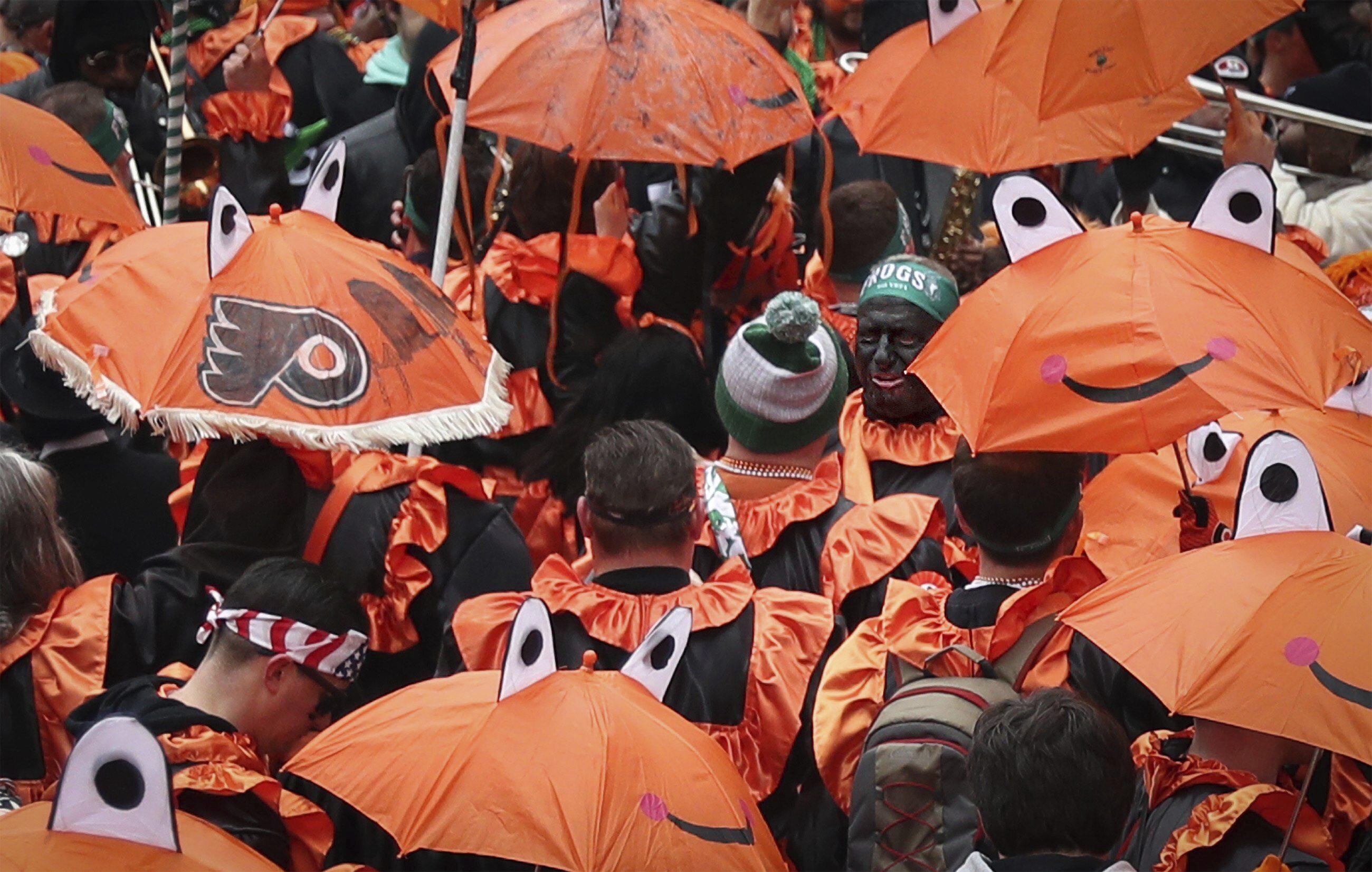 Blackface again mars Philadelphias troubled New Year parade