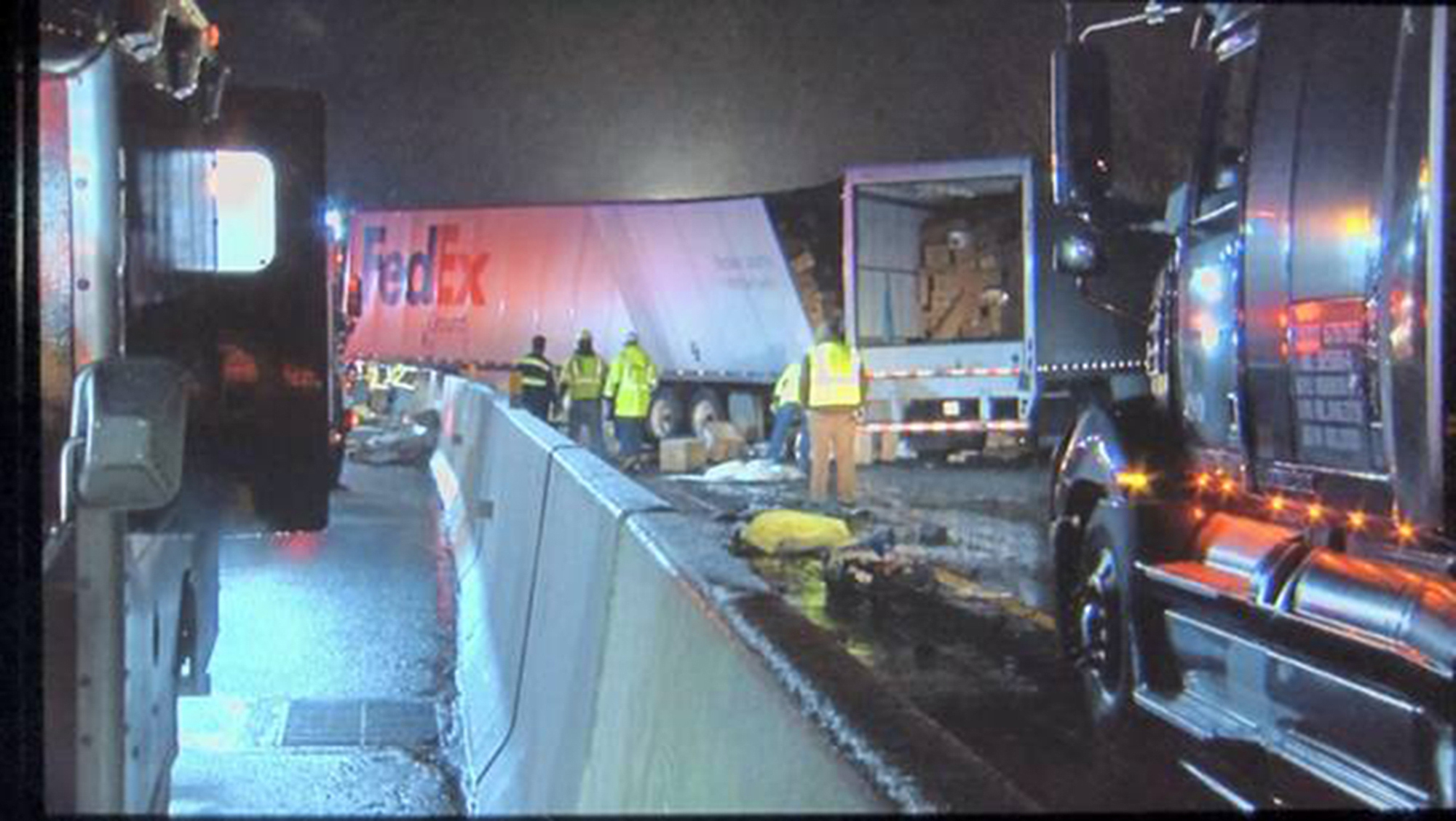 5 dead, dozens hospitalized in Pennsylvania Turnpike crash