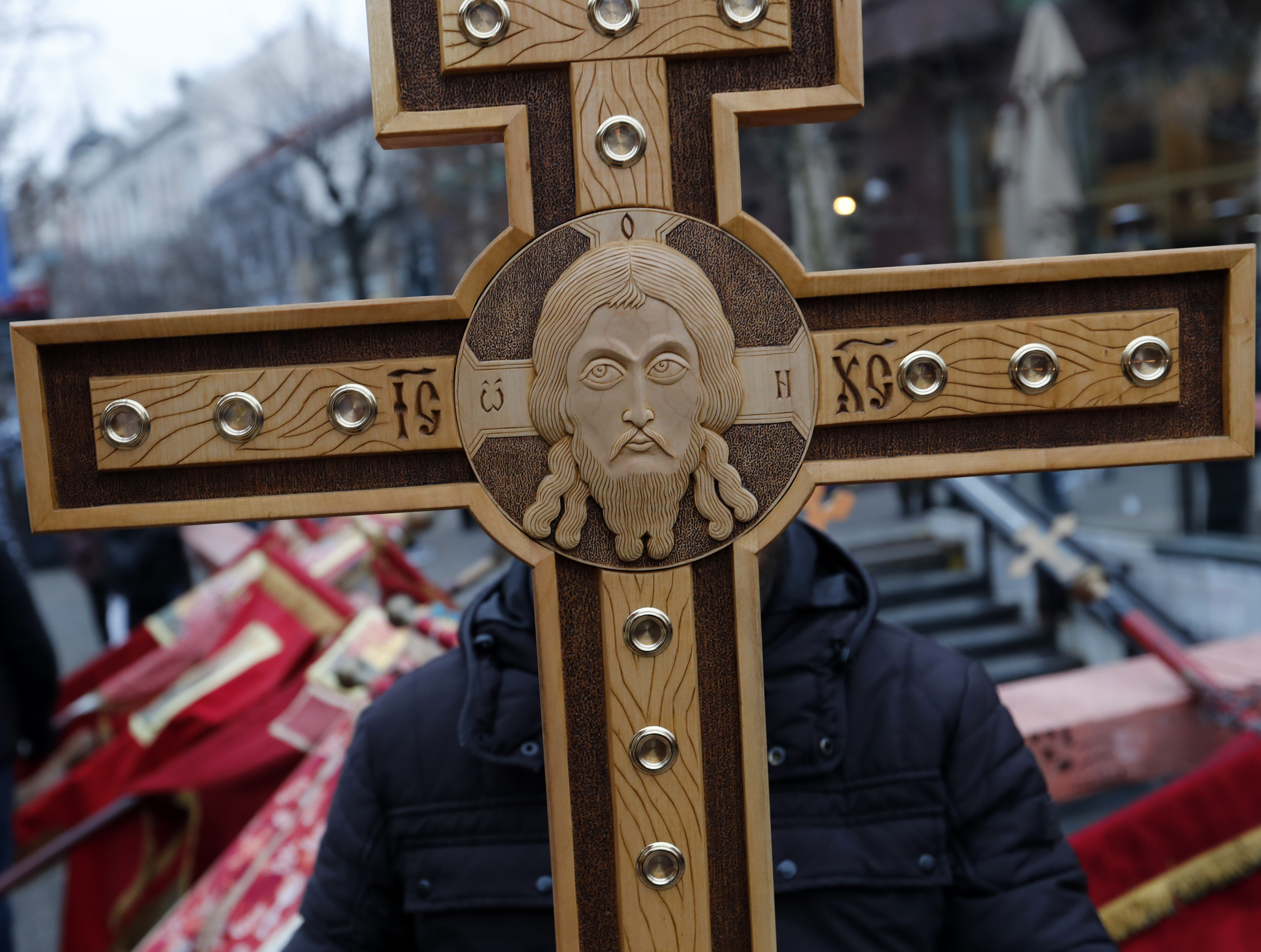 Serbian church protests suffering of Serbs in the Balkans