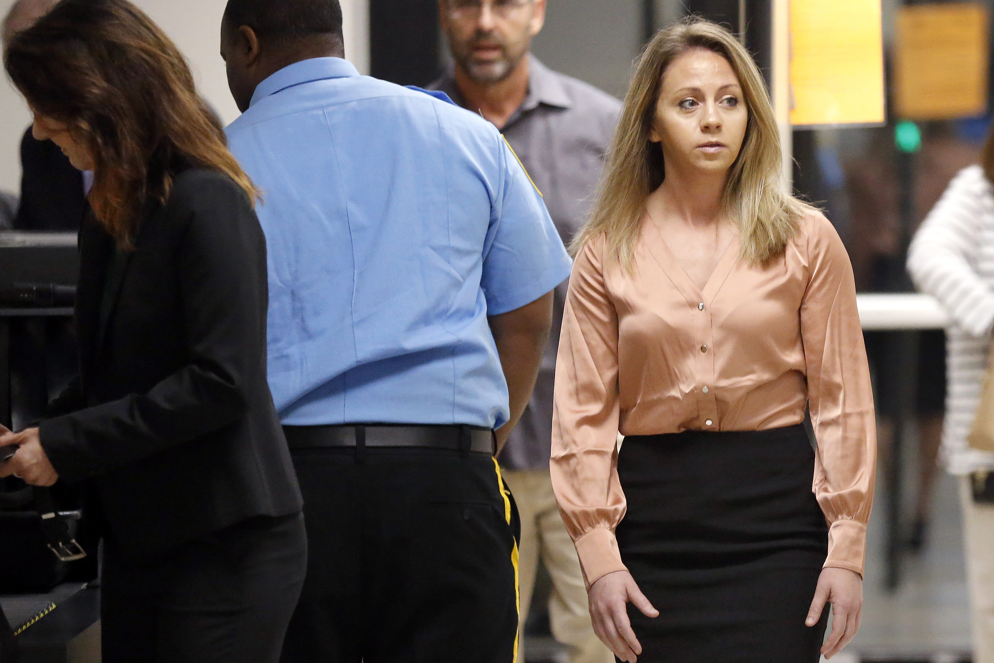 The Latest: Ex-lover denies rendezvous planned with Guyger
