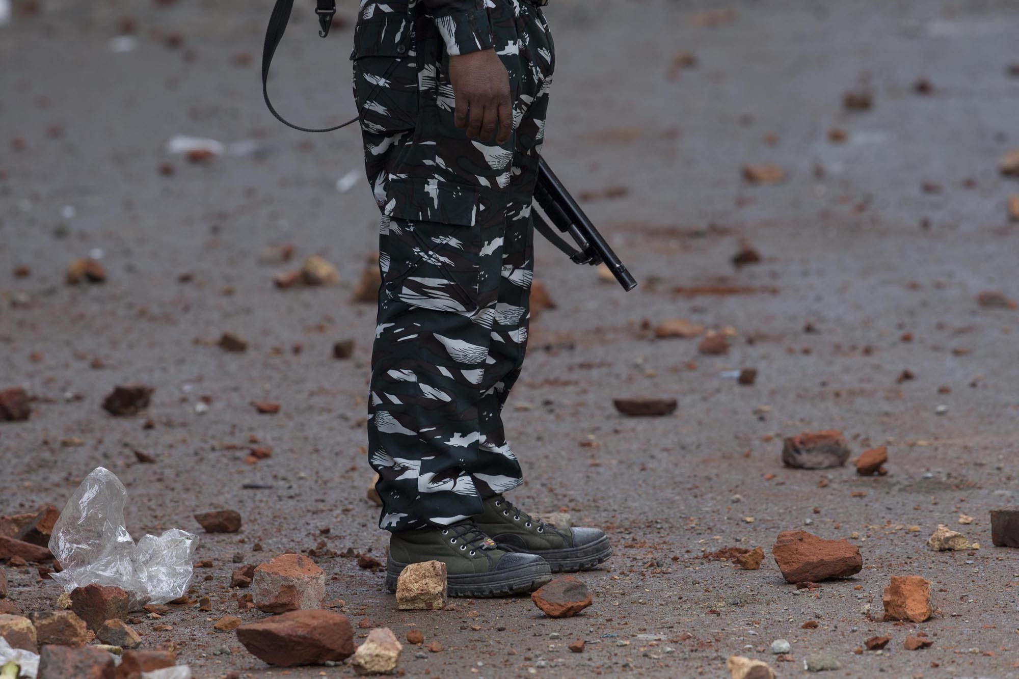 Indian police say they killed a top militant in Kashmir