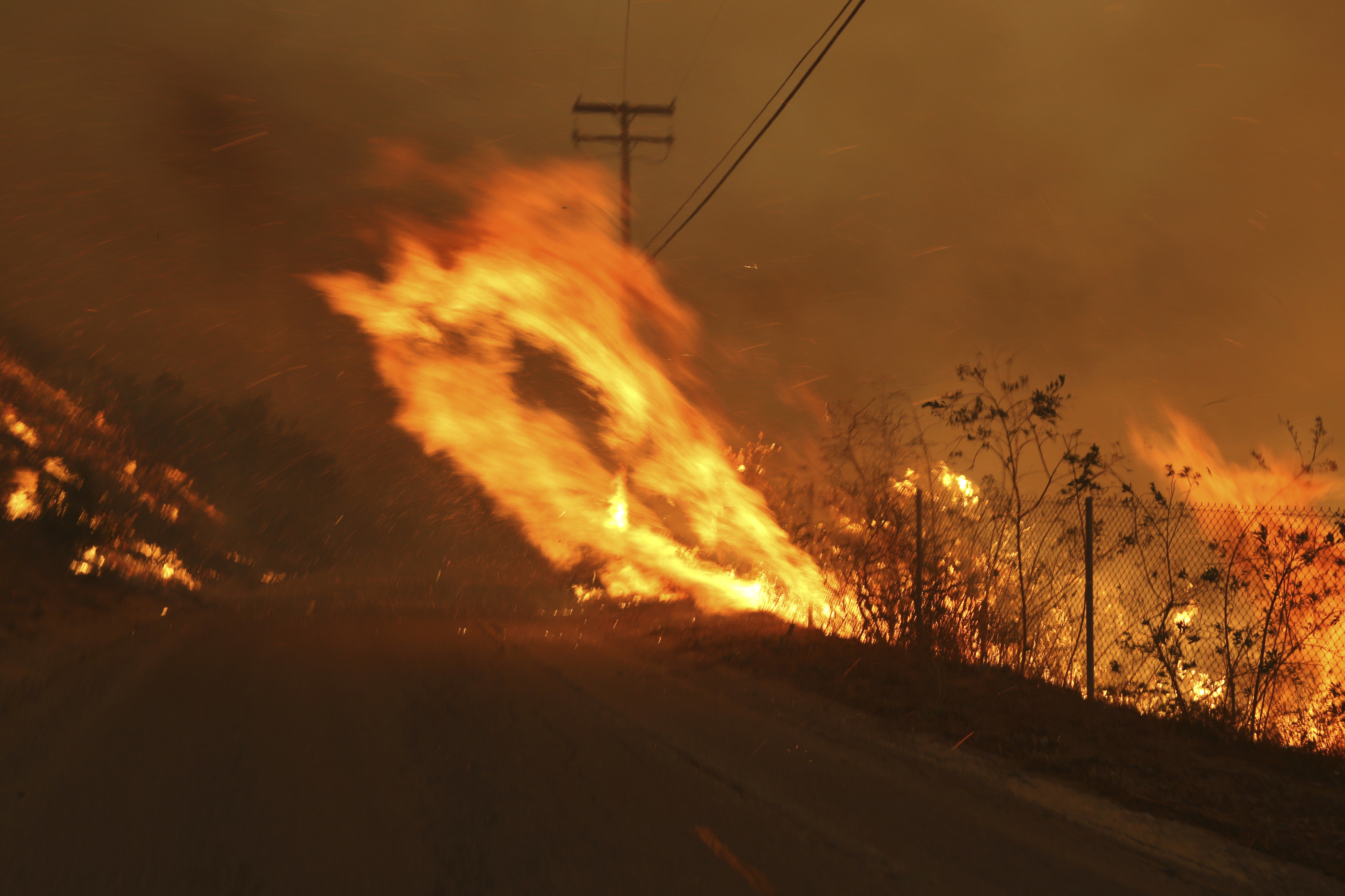 Utilities say equipment probably sparked California fires
