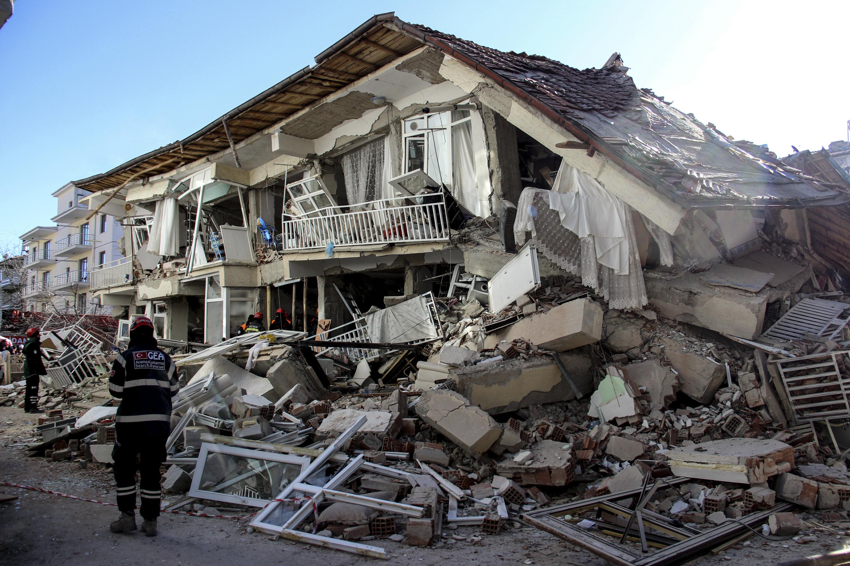 Turkish leader slams propaganda as quake deaths rise to 29