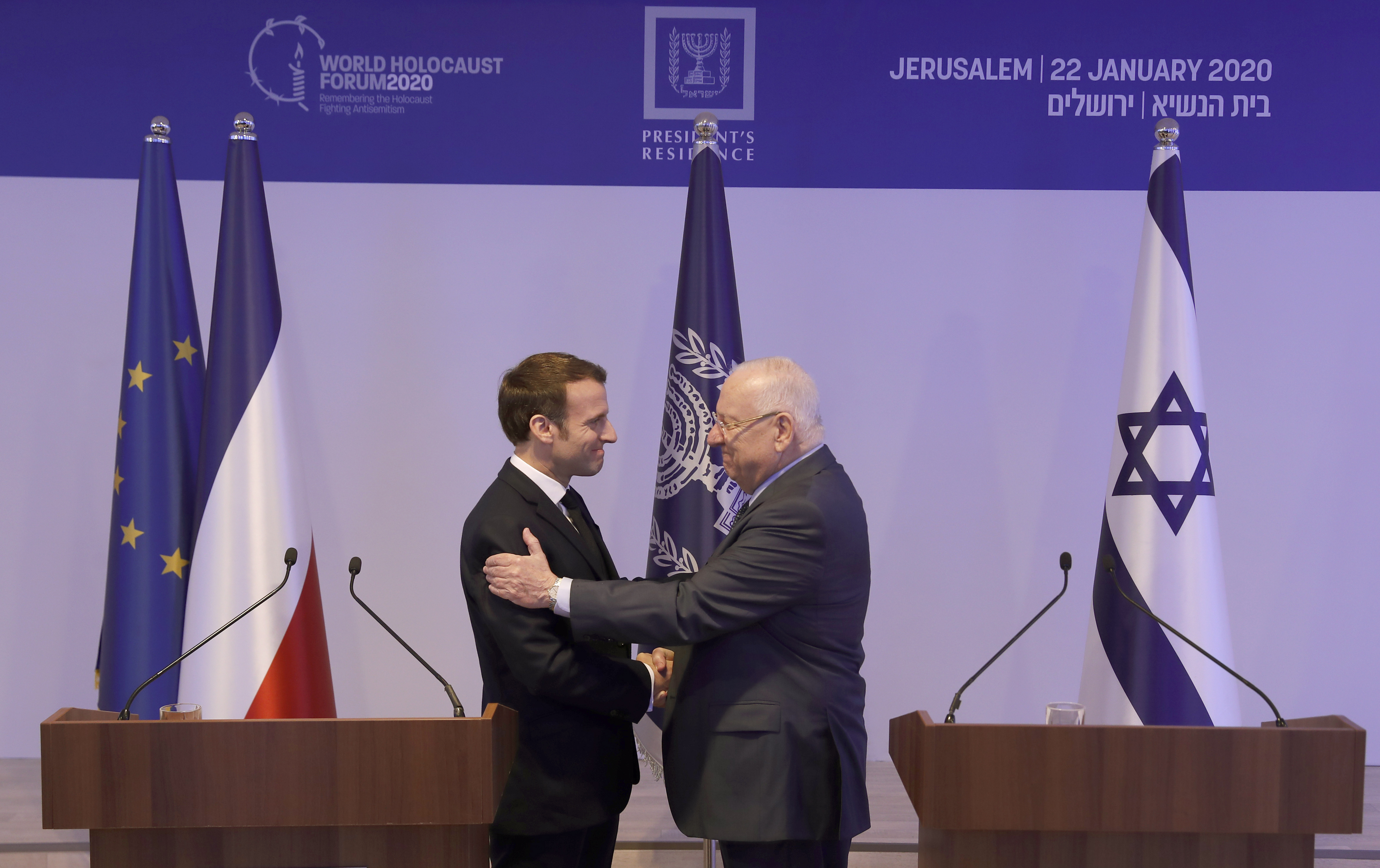 Frances Macron cool to Israeli request to criticize ICC