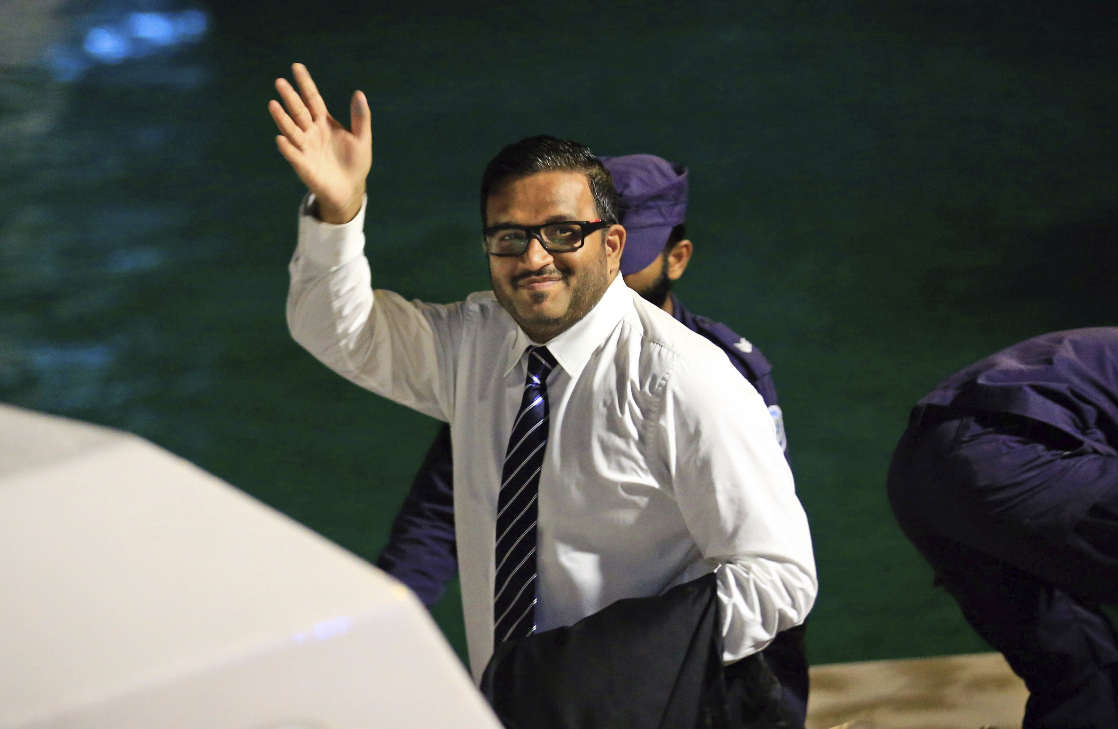 Maldives police arrest ex-vice president who fled to India
