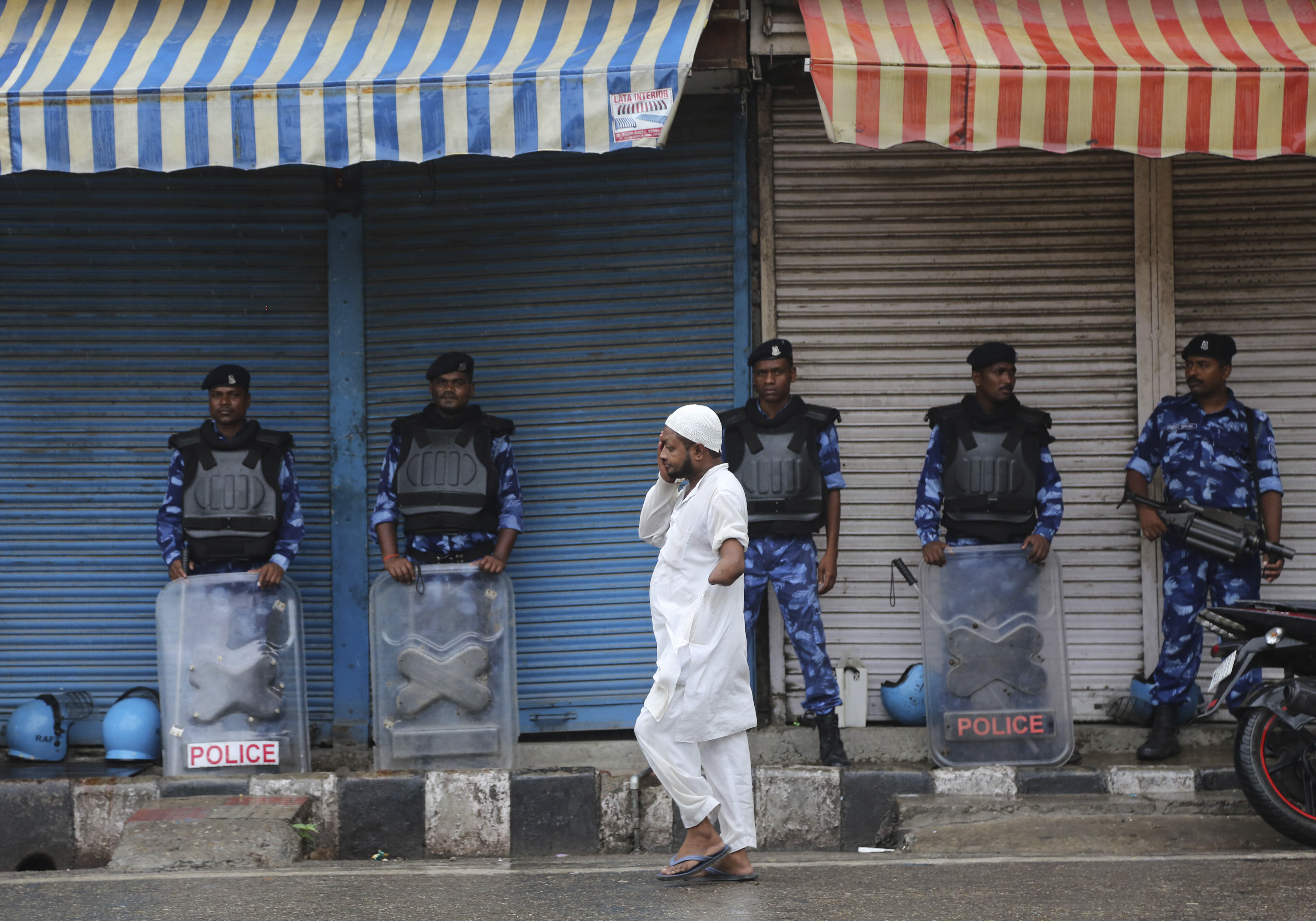 Kashmir curfew partially eased for prayers amid lockdown