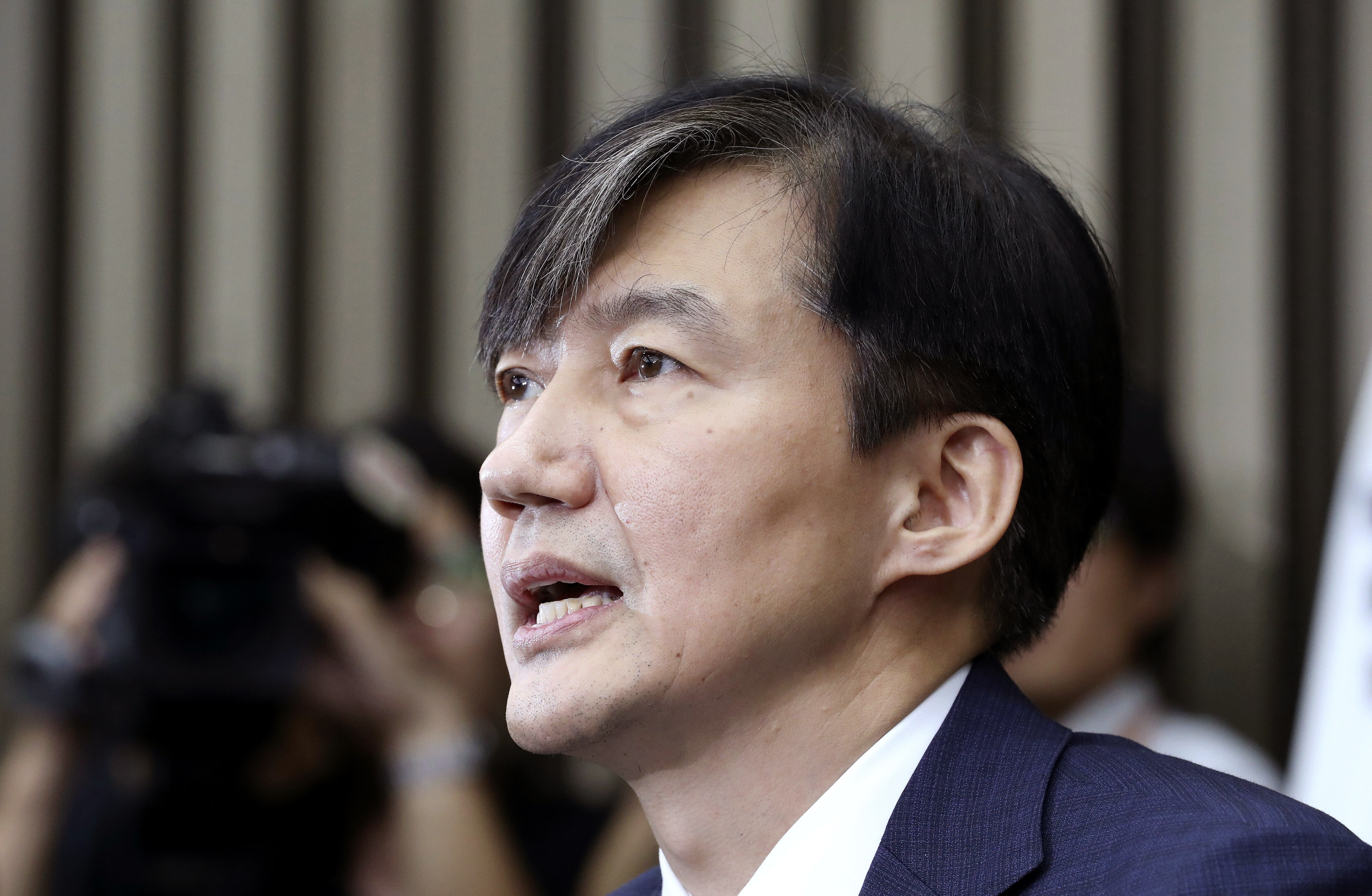 South Korean reporters grill minister nominee for 11 hours