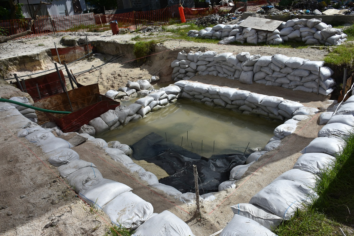 Graves of US WWII servicemen unearthed on Pacific island