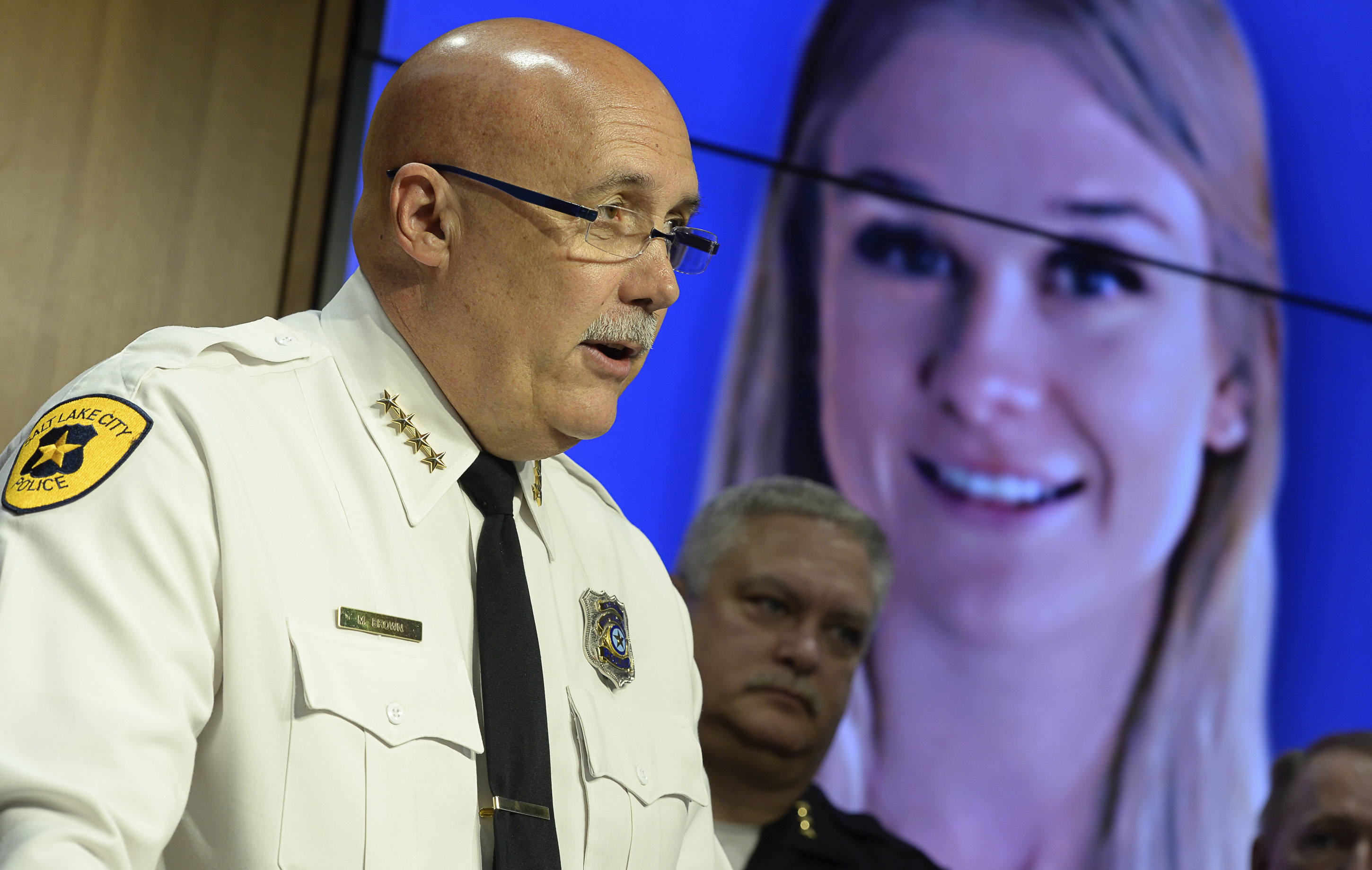 The Latest: Rape report against slaying suspect released