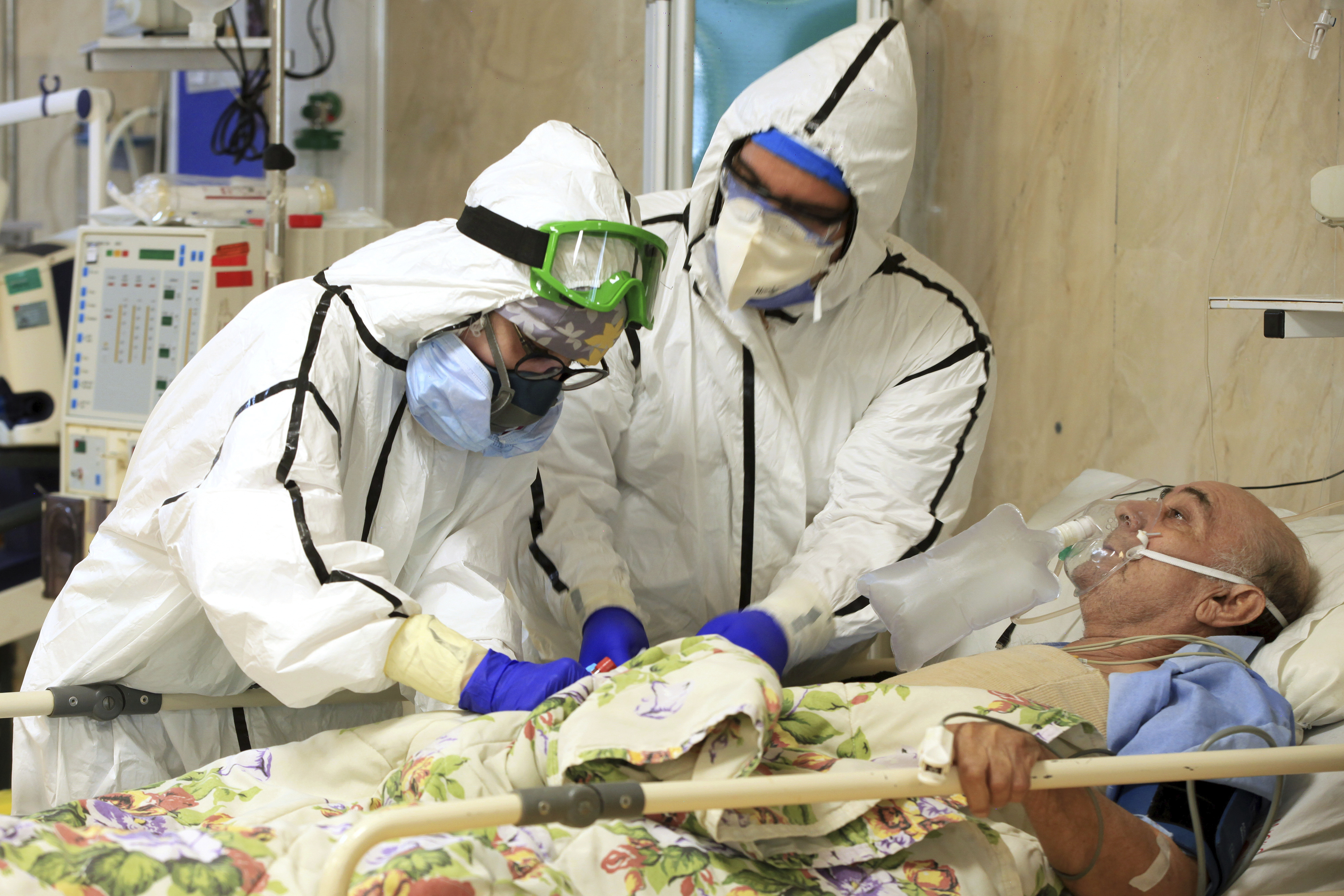 Iran announces its virus death toll passes 30,000 killed