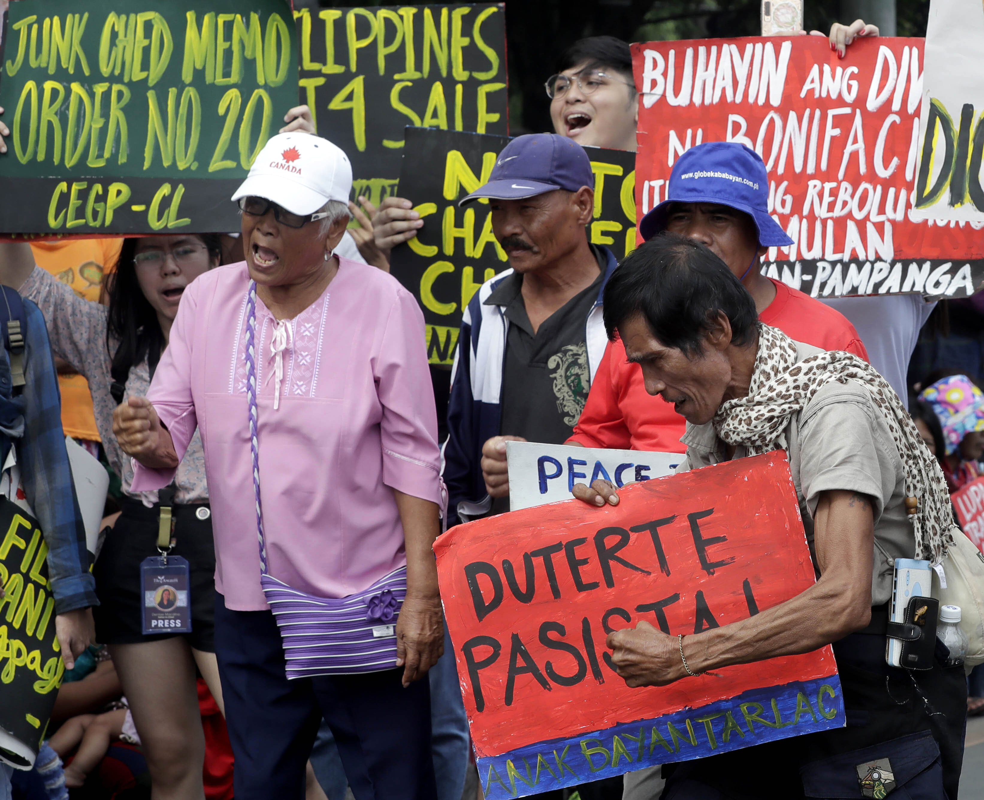 Amid protests, Duterte to address Congress led by his allies