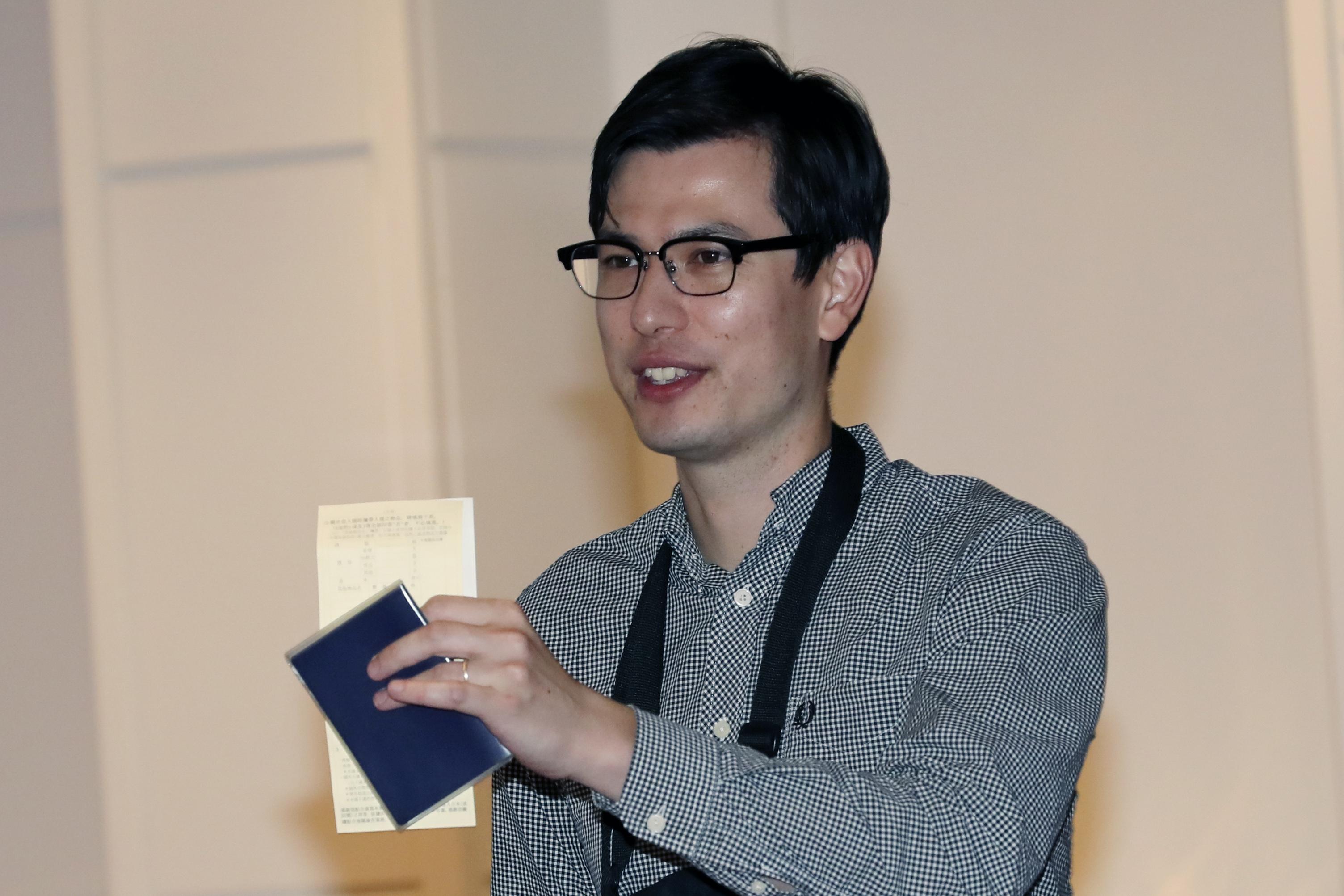 Australian student released in North Korea says Im OK