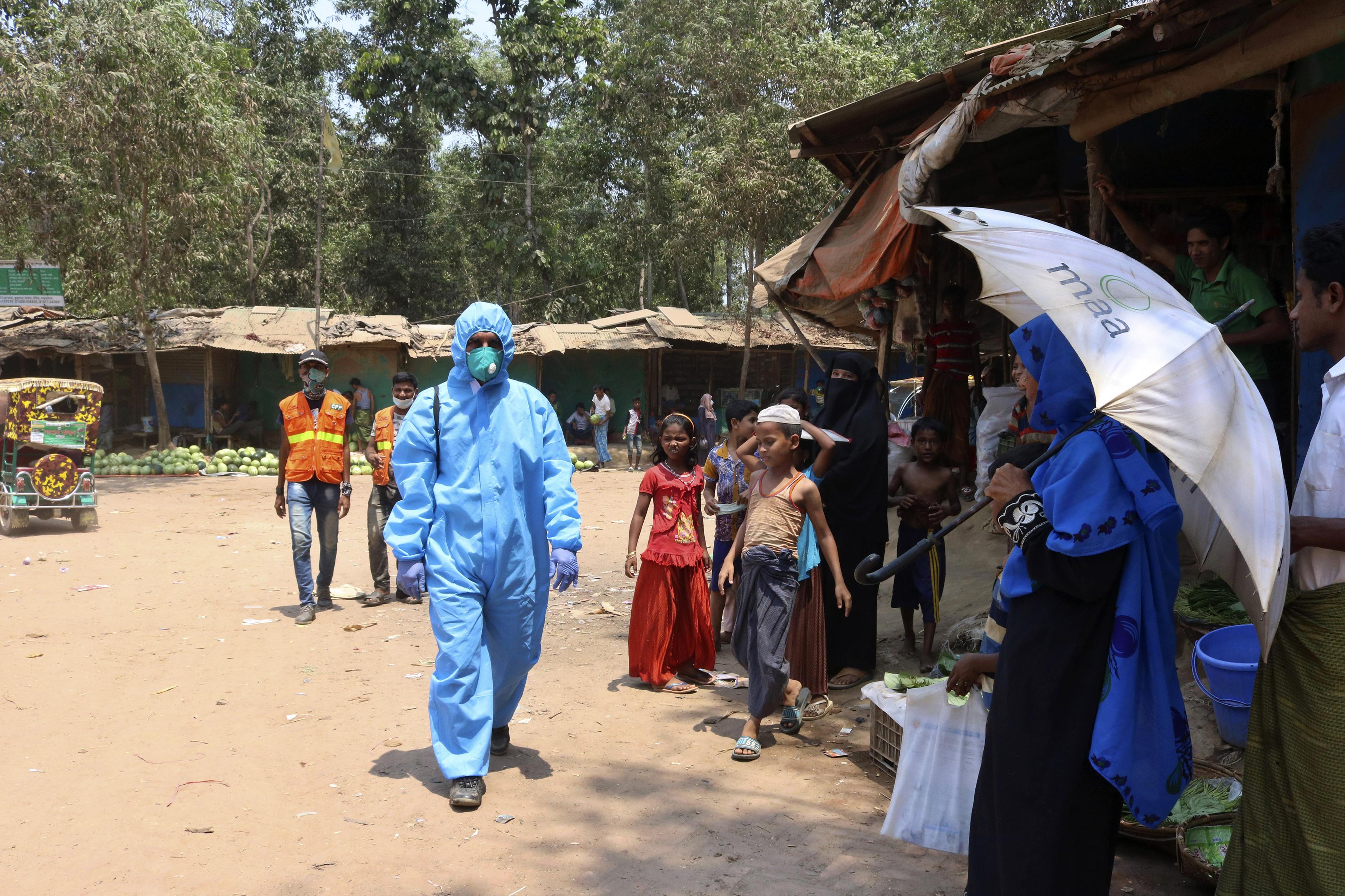 Bangladesh confirms 1st death of Rohingya from coronavirus