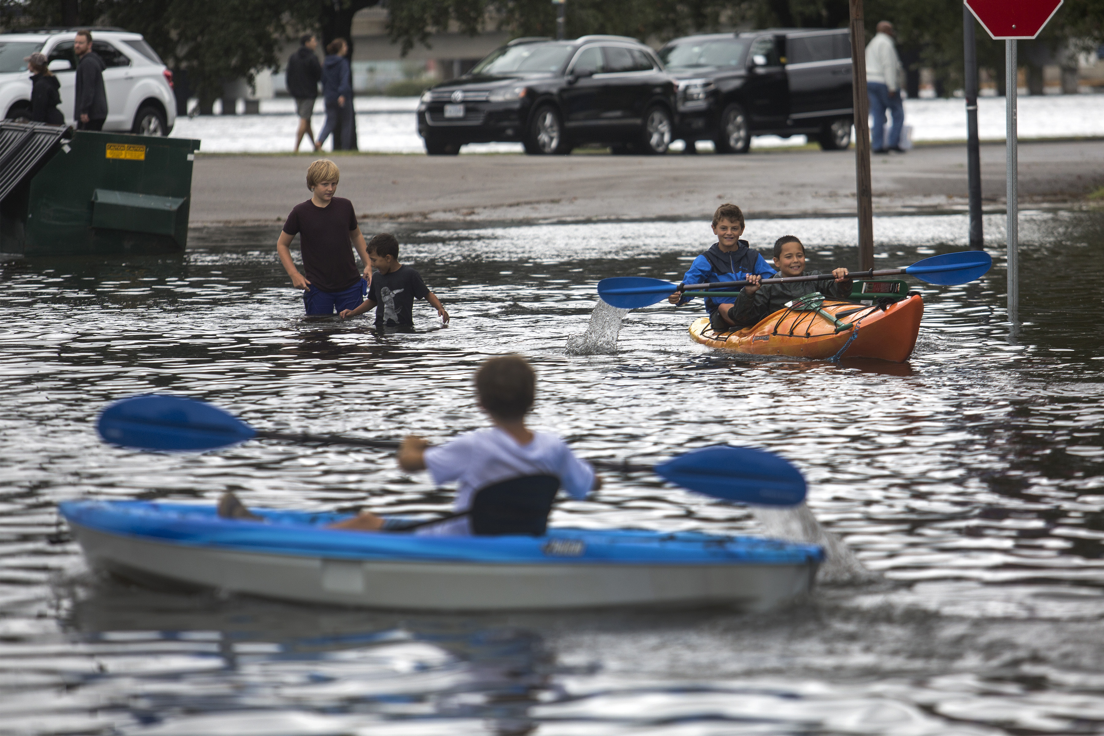 The Latest: Widespread blackouts as Dorian continues march
