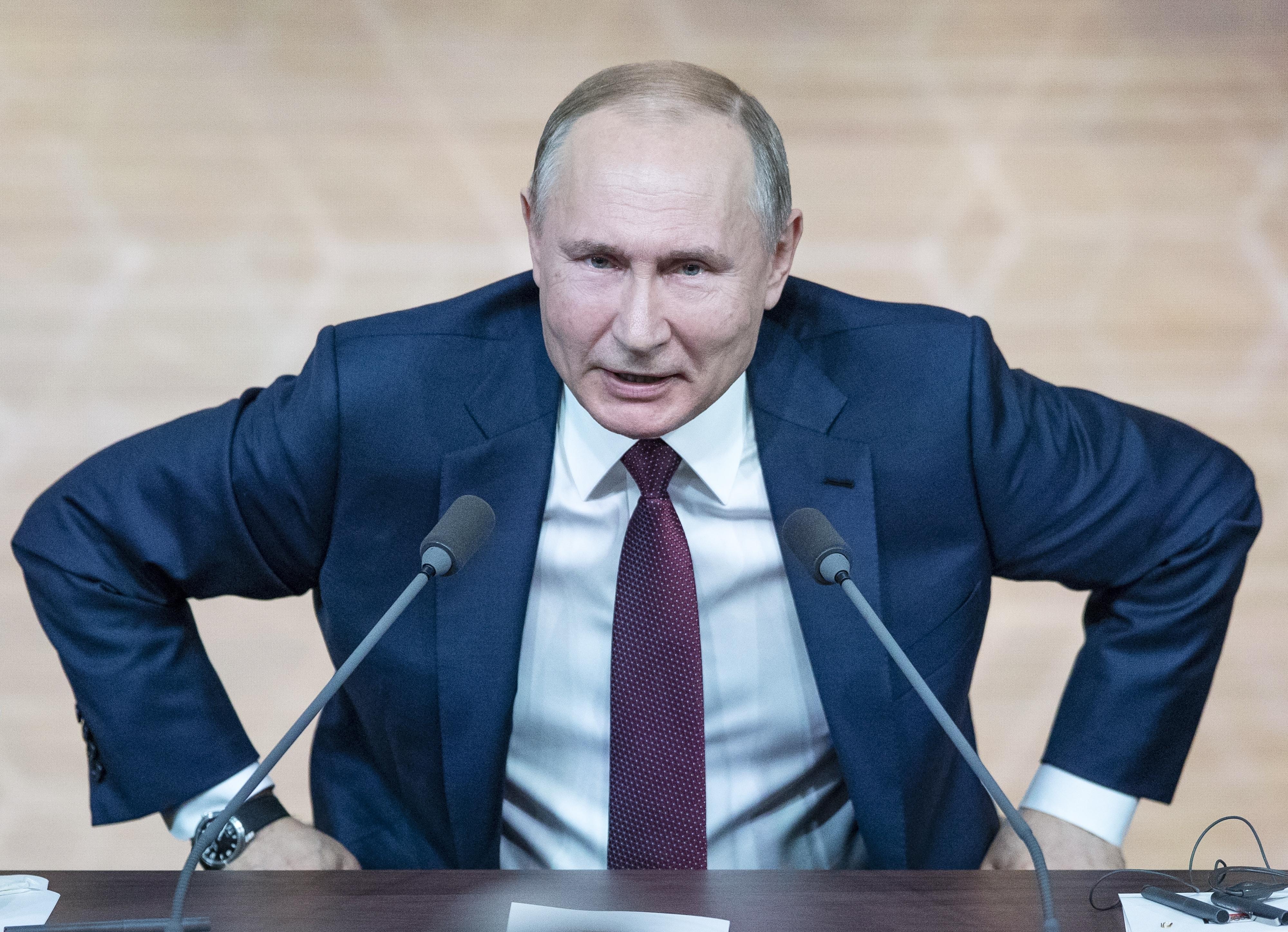 Putin, Ukraines leader talk about natural gas, prisoners
