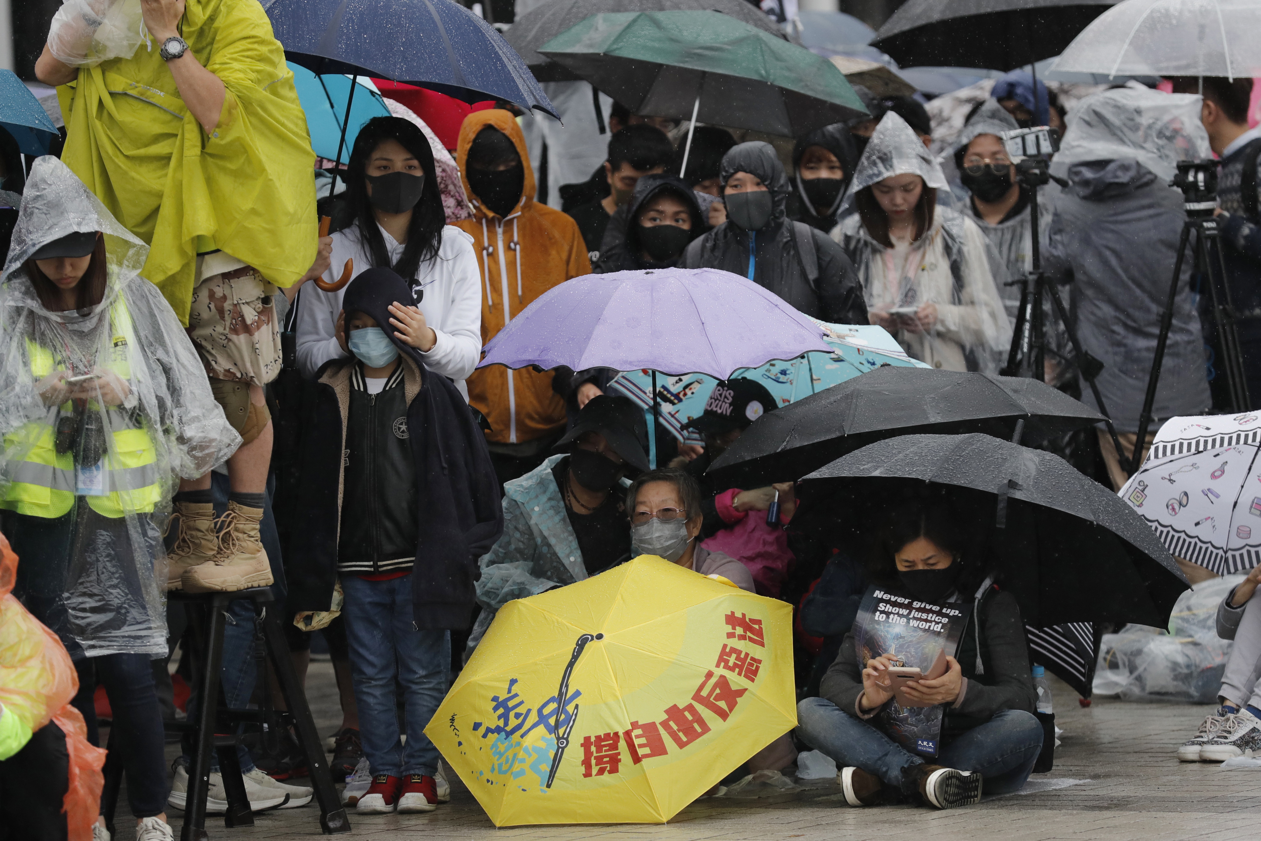 Hong Kong police accuse protesters of inciting youth crime