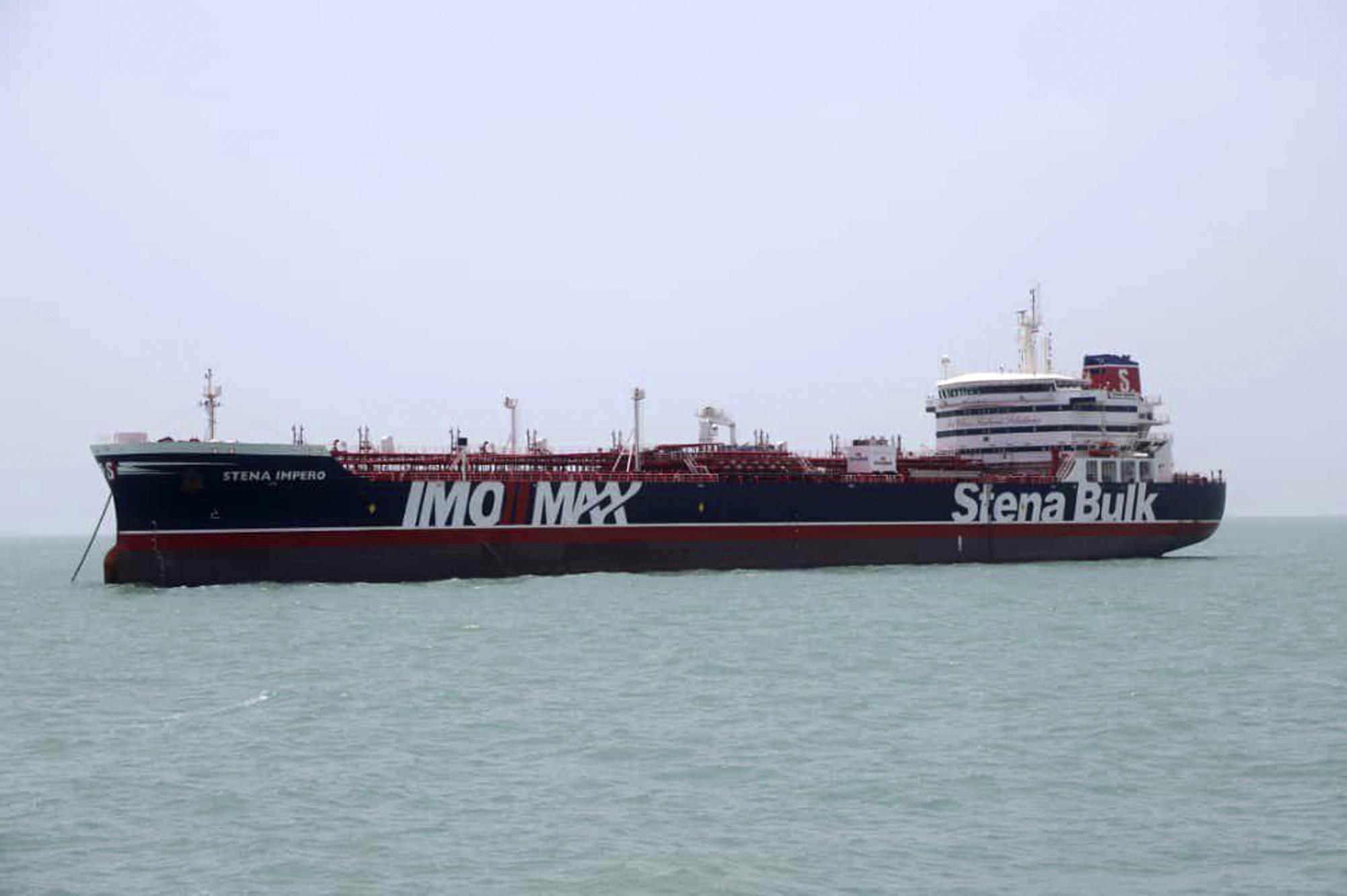 UK navy heard in audio trying to thwart Iran ship seizure