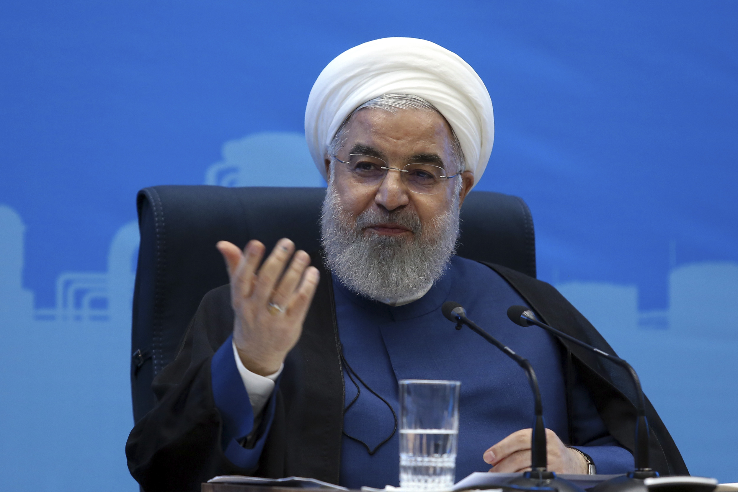 The Latest: Iran shows seized fuel tanker matches UAE ship