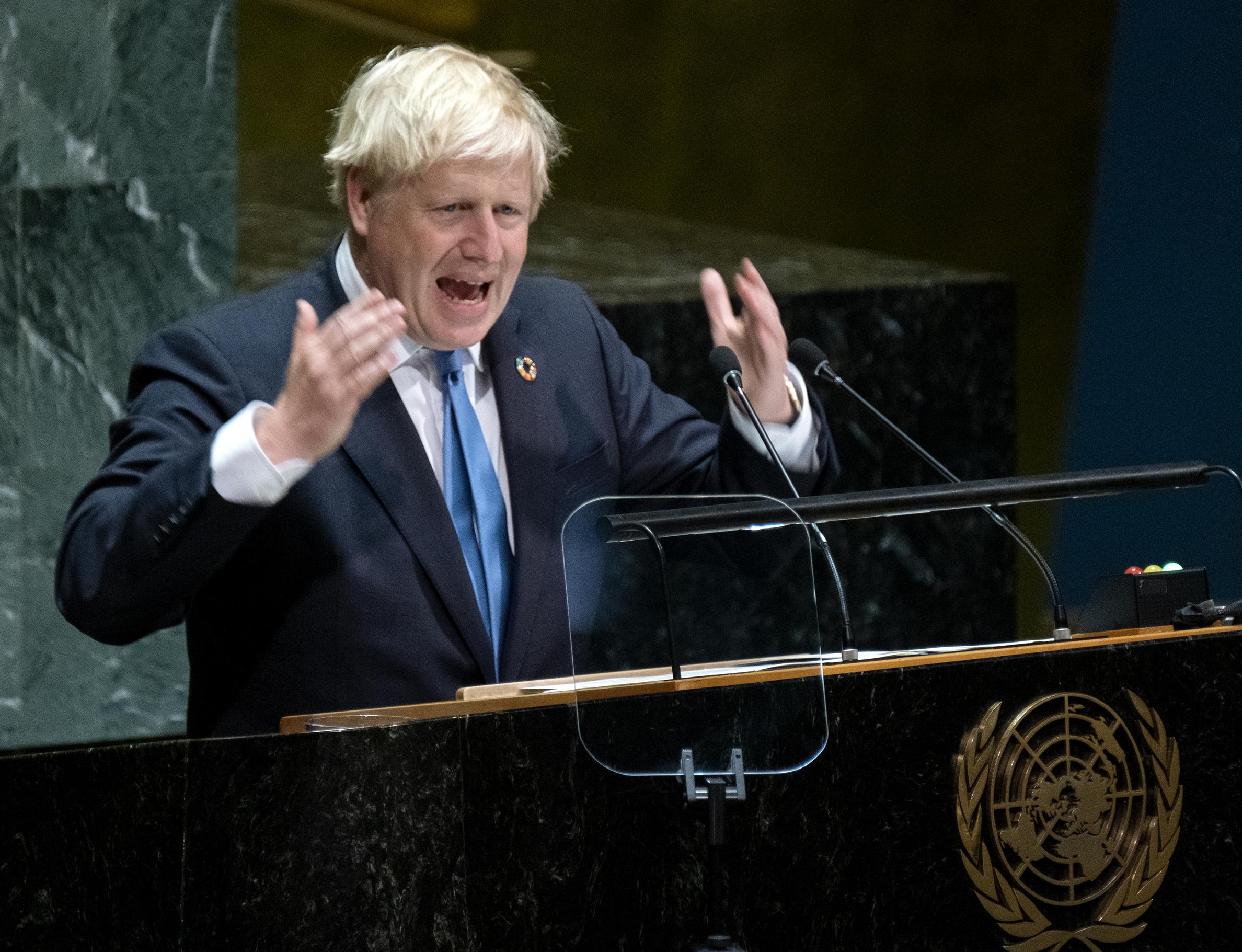 Johnson: Terrifying limbless chickens but little Brexit