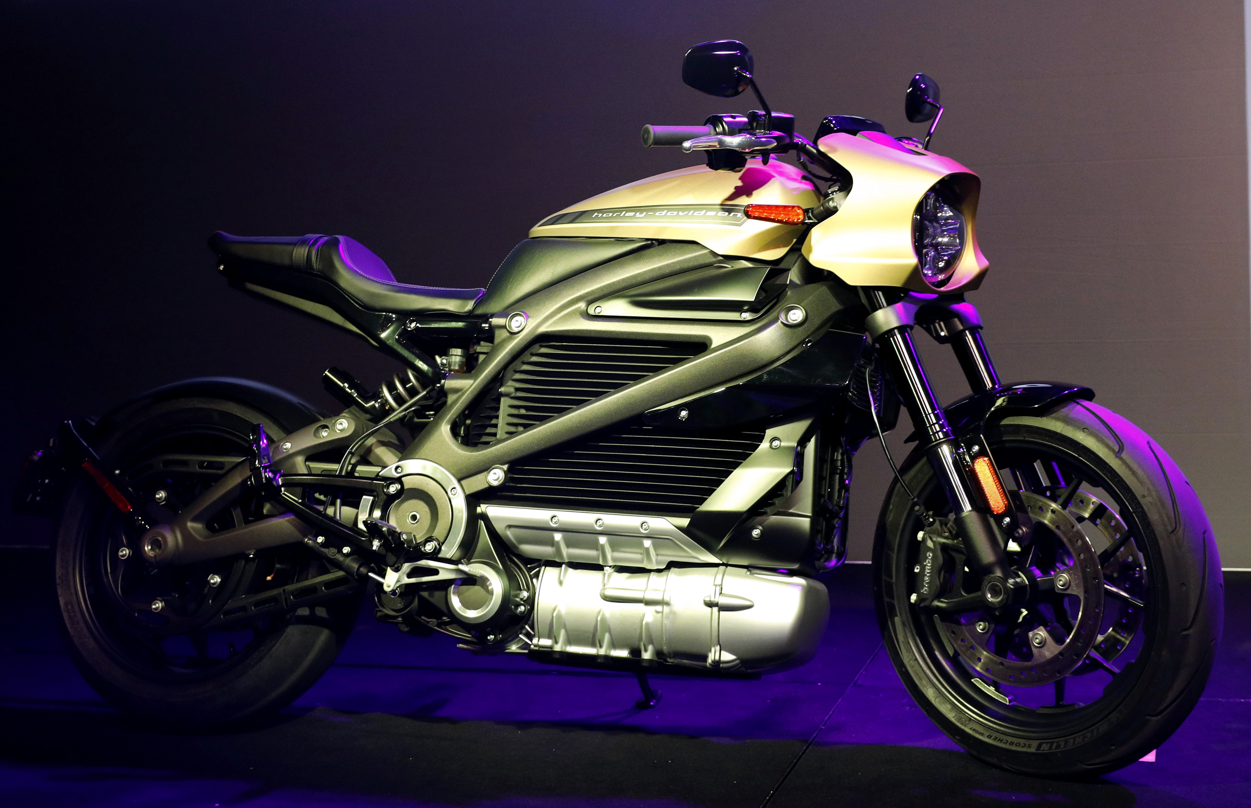 Harley-Davidsons electric Hog: 0 to 60 mph in 3 seconds