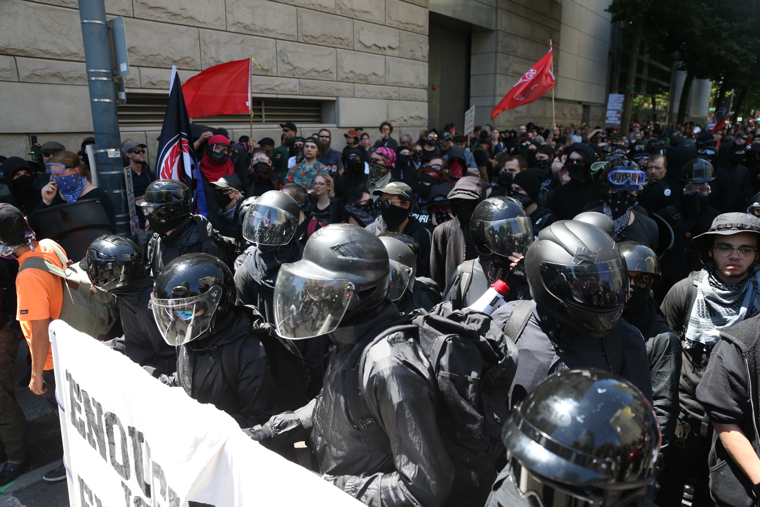 Marches by rival groups lead to clashes; 3 people arrested