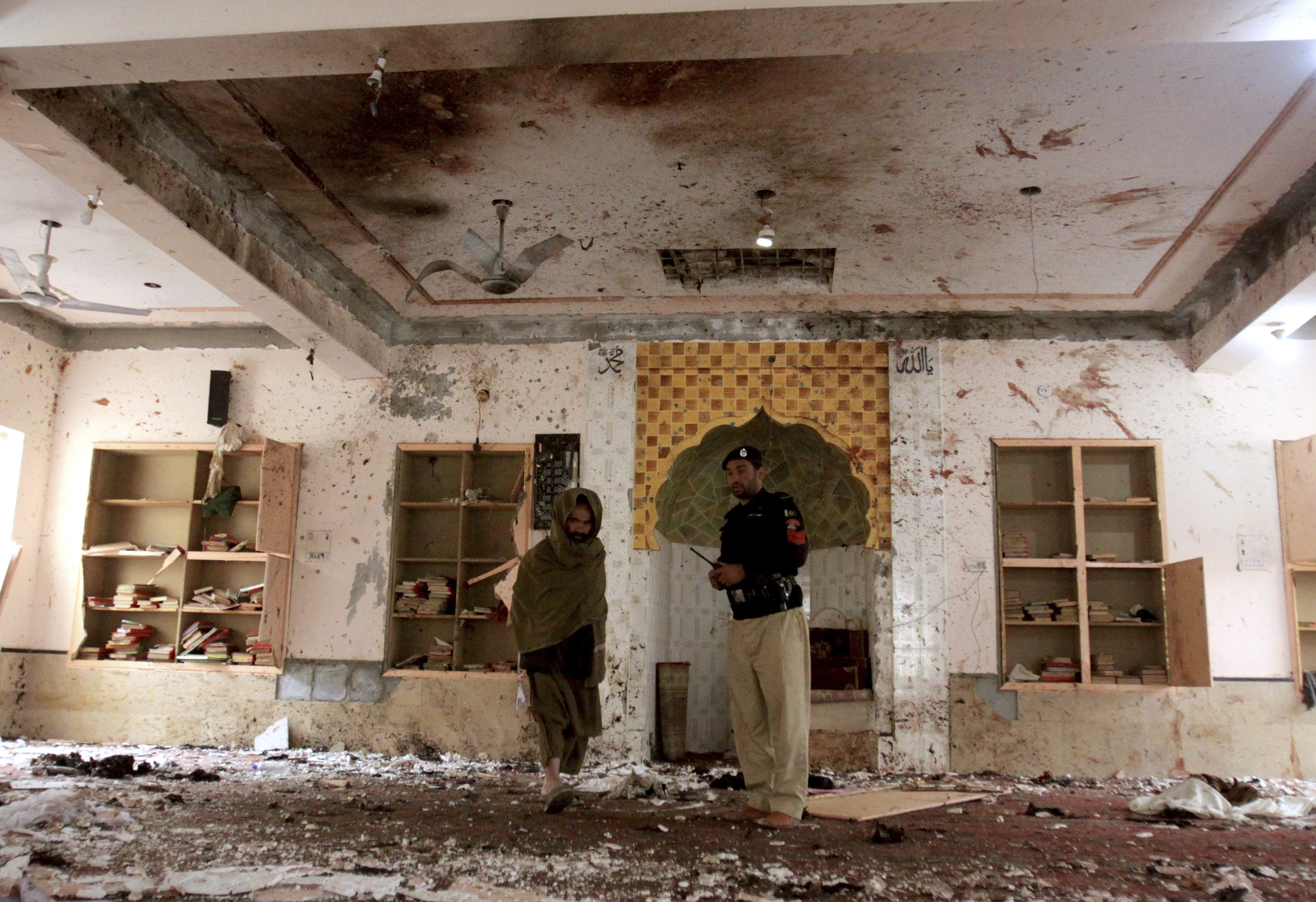 IS claims Pakistan mosque bombing as death toll rises to 15