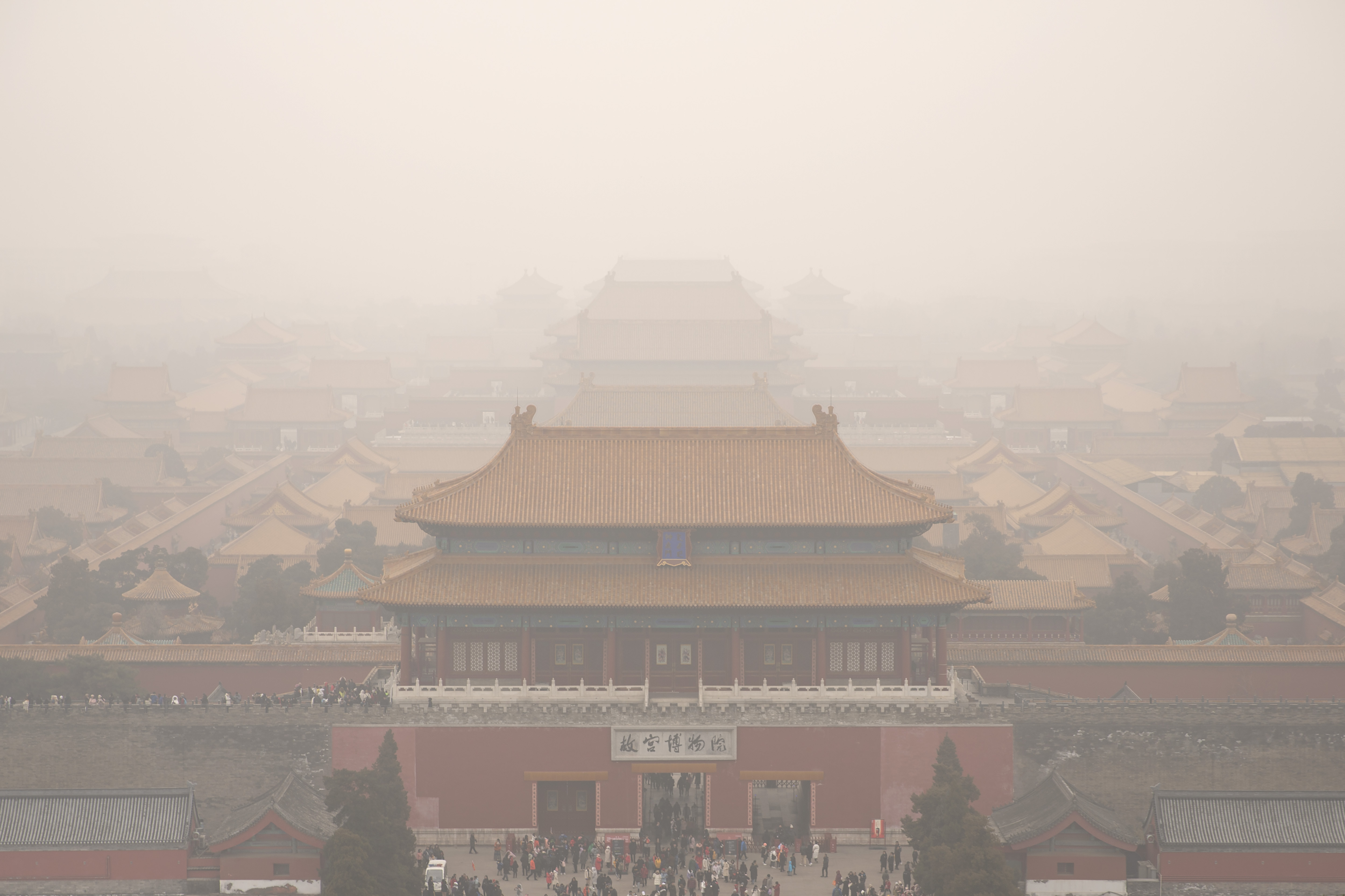 SUV on grounds of Beijings Forbidden City sparks outrage