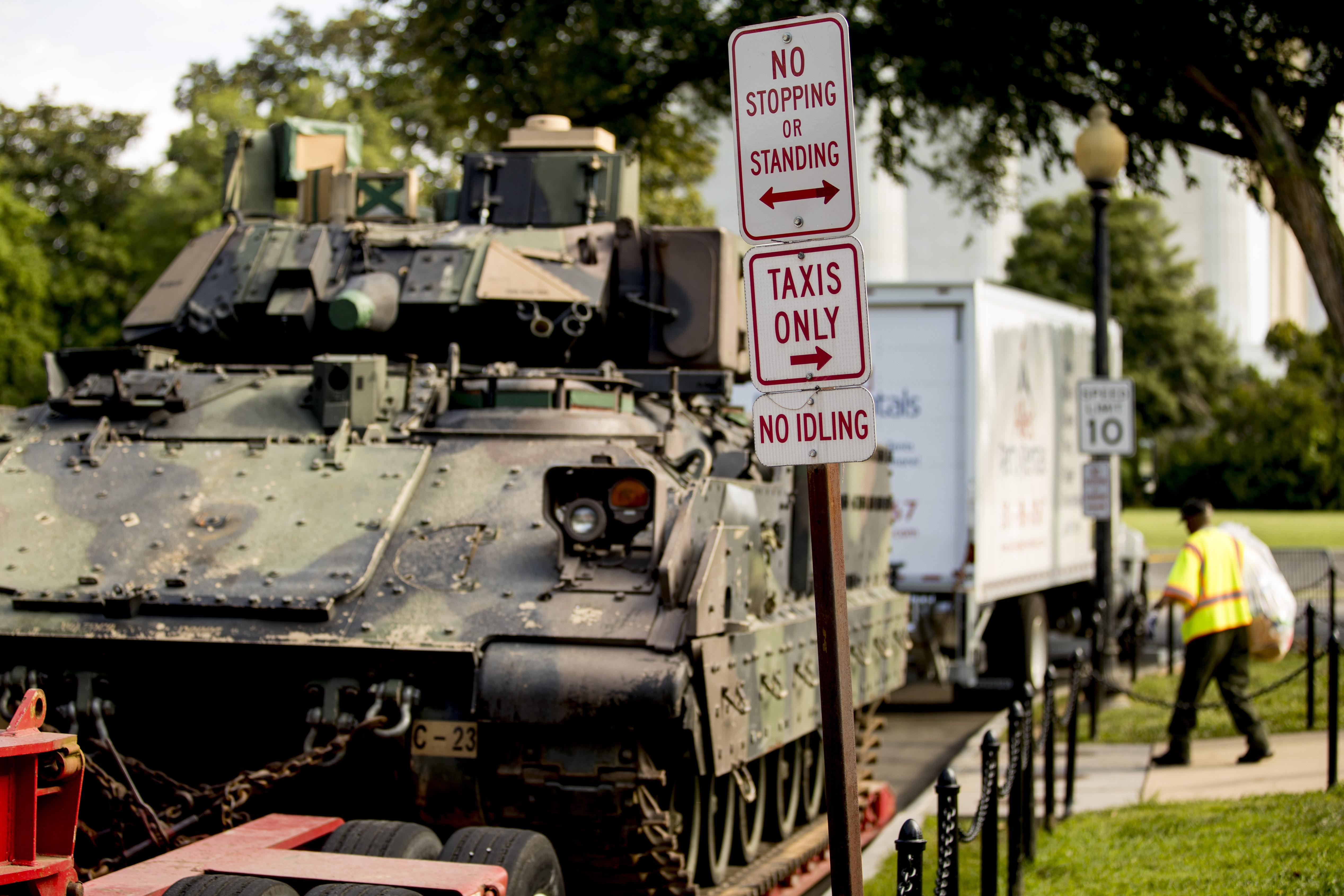 Trump touts July 4 military salute; critics see politics