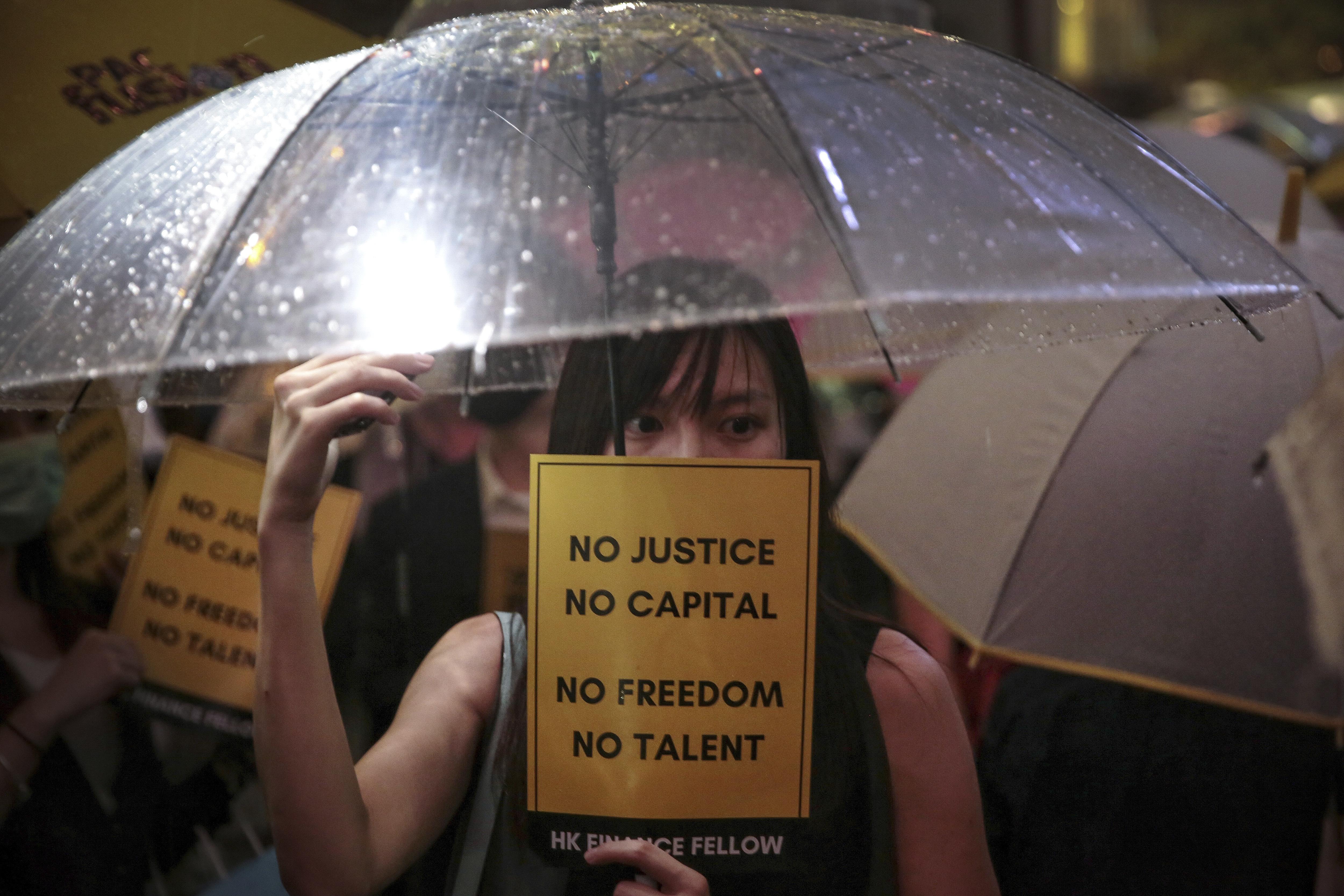Top China envoy: US fanning flames of Hong Kong protests