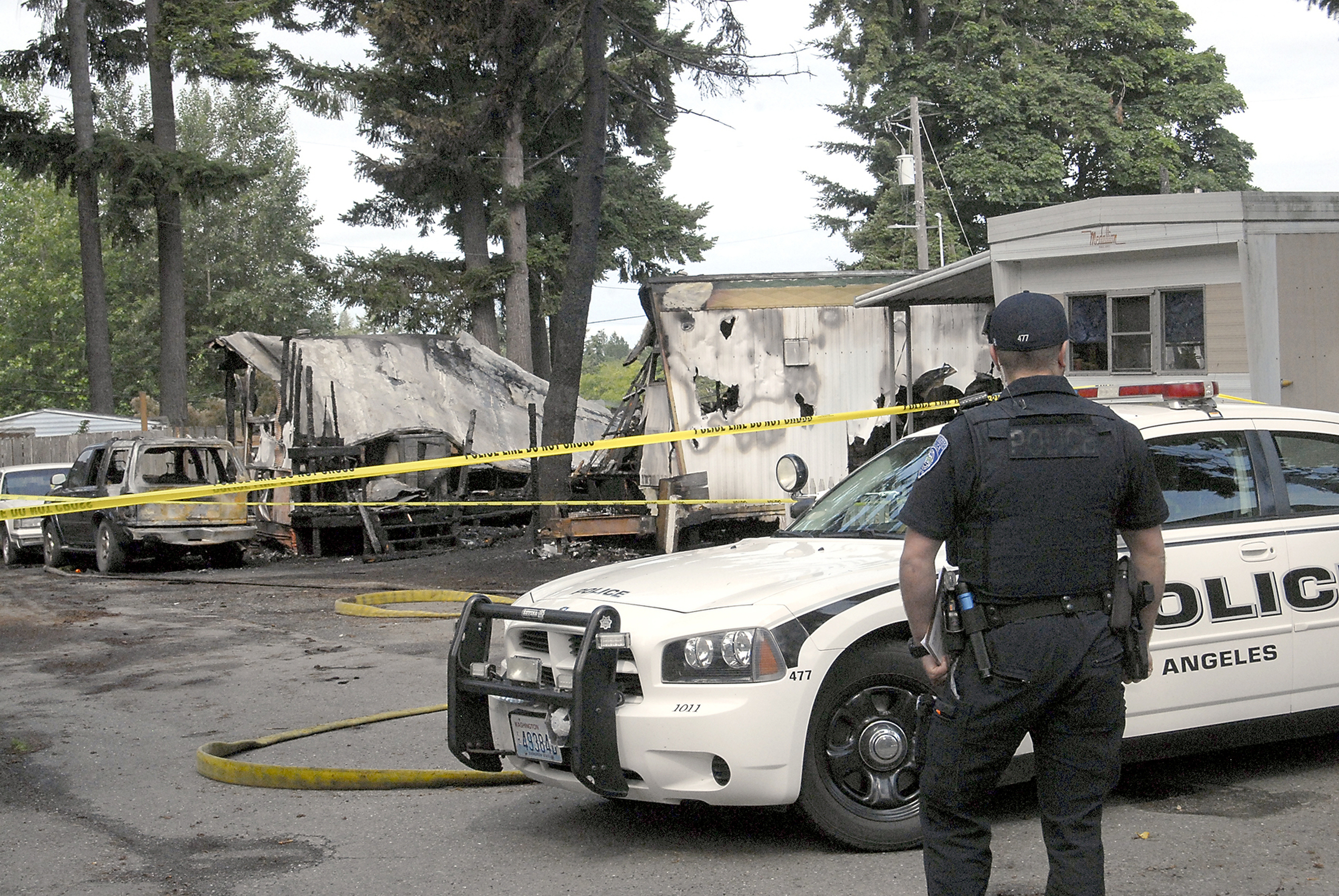 Woman, 3 children missing in deadly mobile home fire
