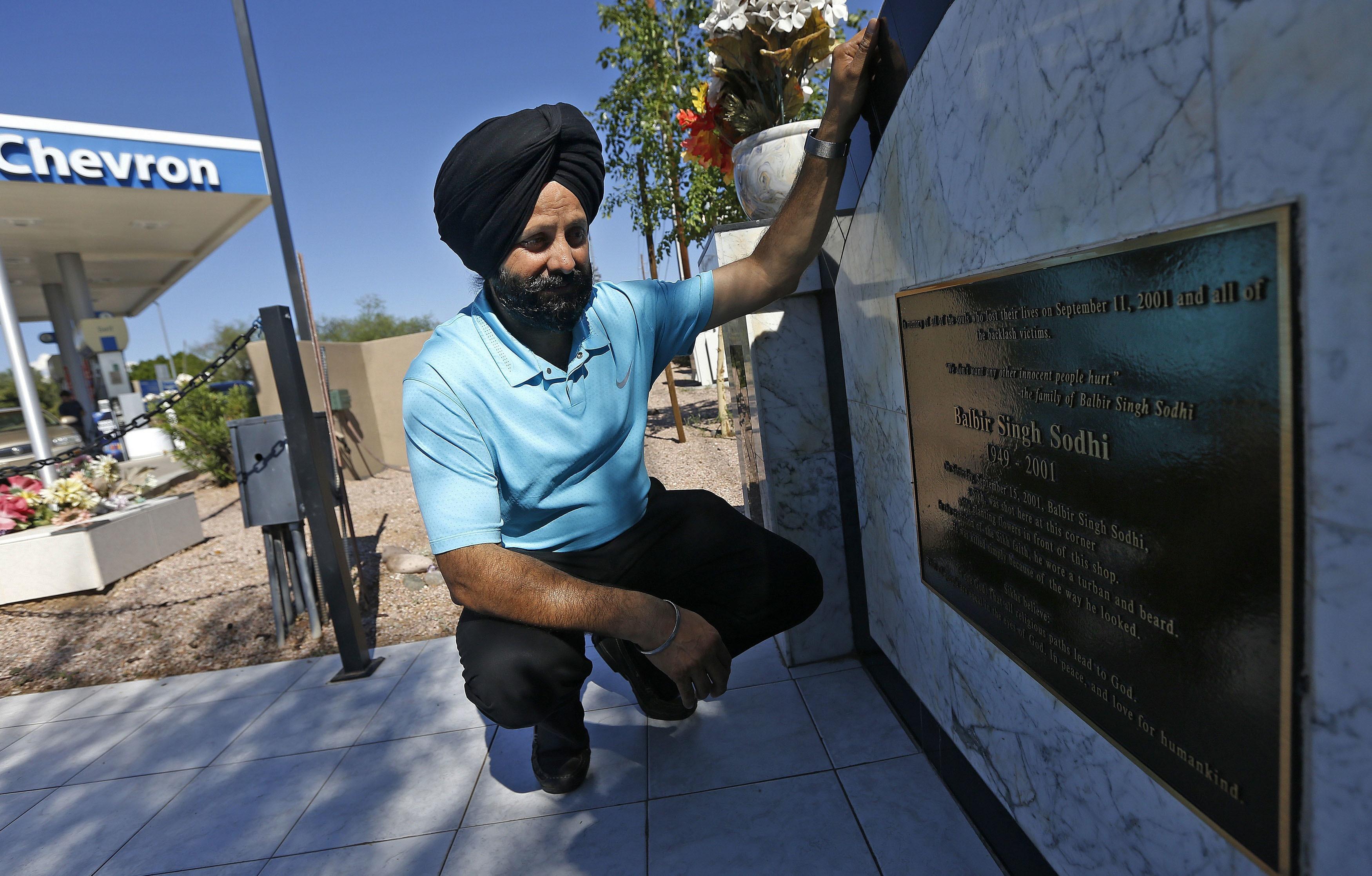 Correction: Sikh Killed-Anniversary story