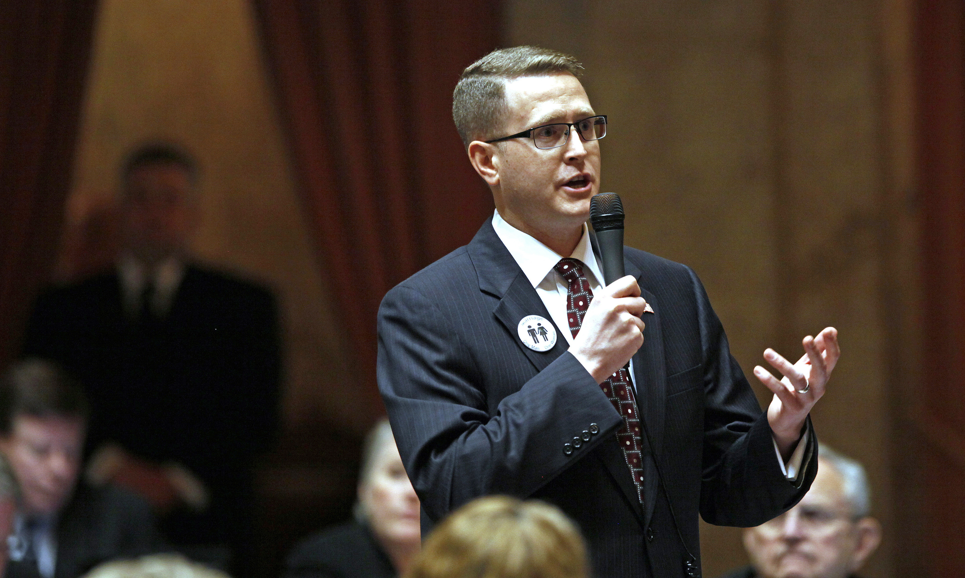 Washington state lawmaker accused of terrorism wont resign