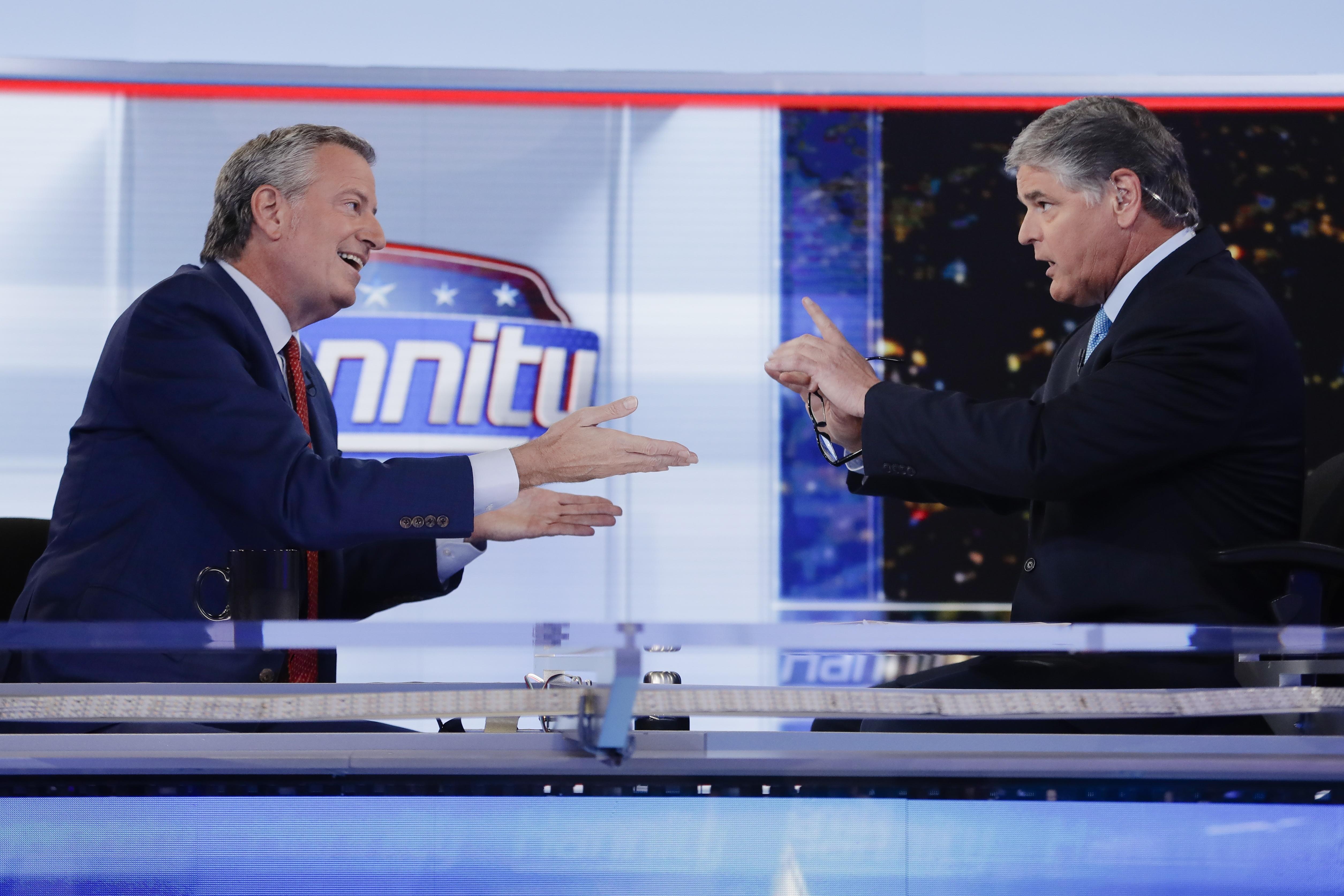 Hannity to de Blasio: You drive me crazy!