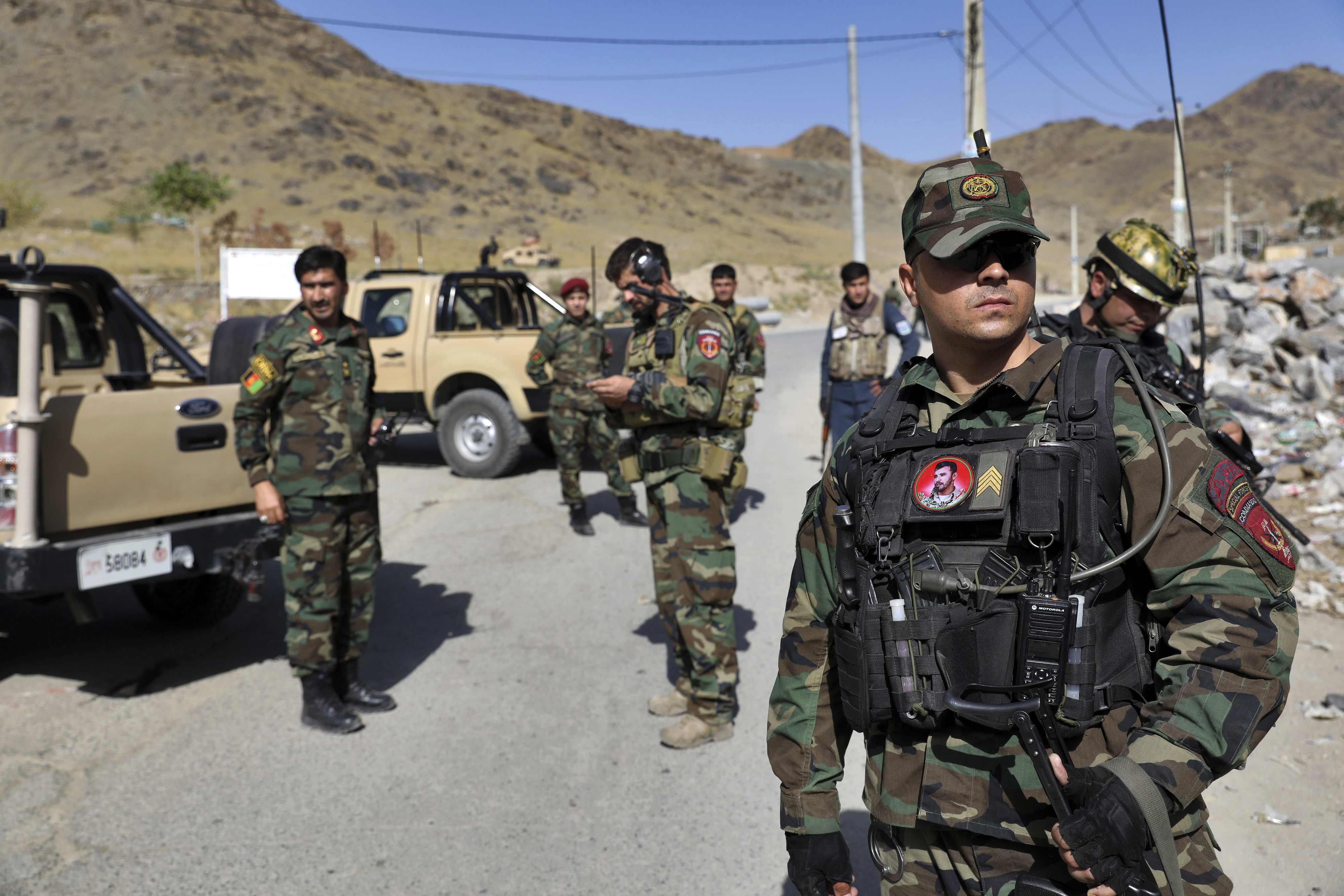 US general for NATO: Afghan violence will rise before vote