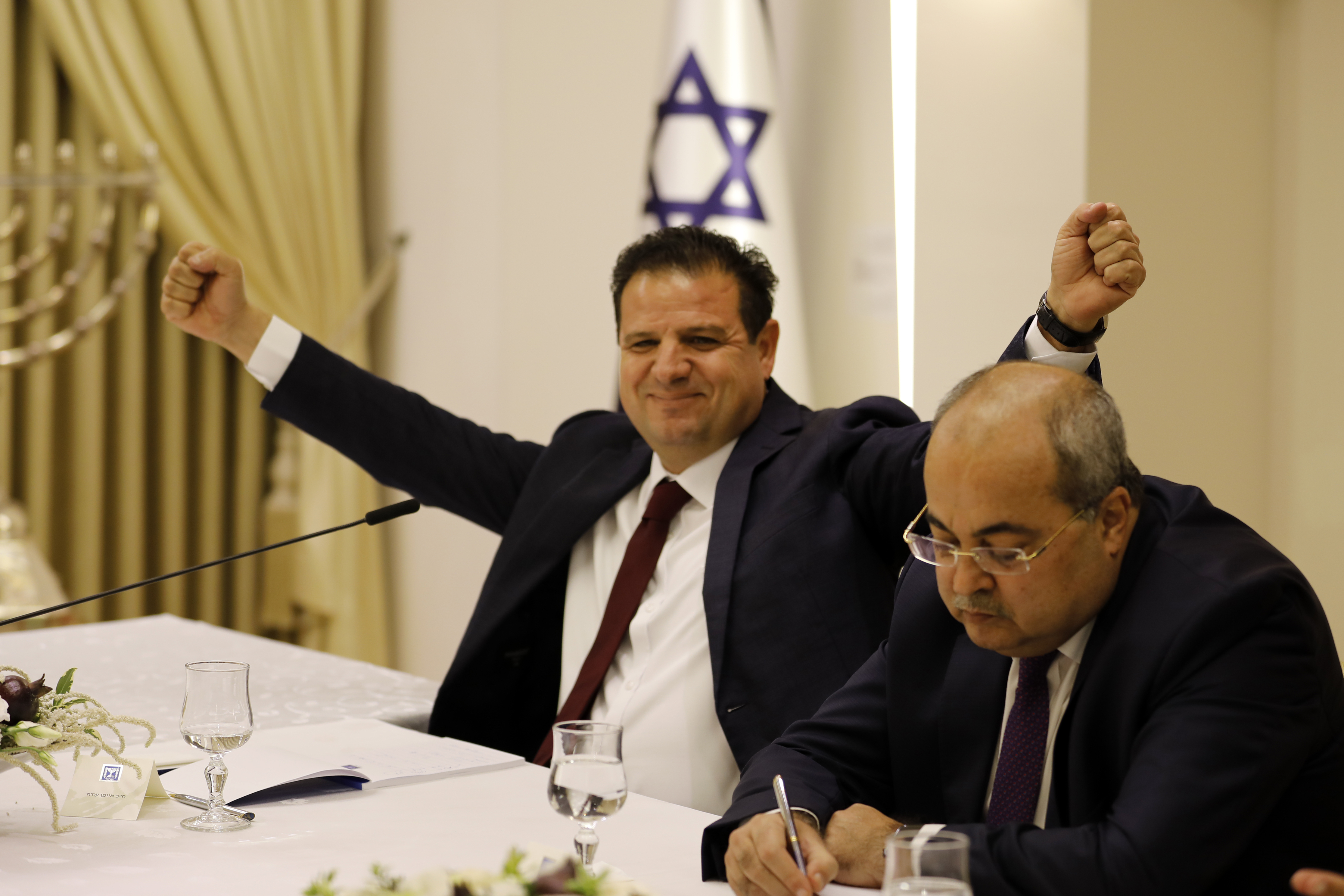 The Latest: Arab lawmakers in Israel endorse Gantz for PM