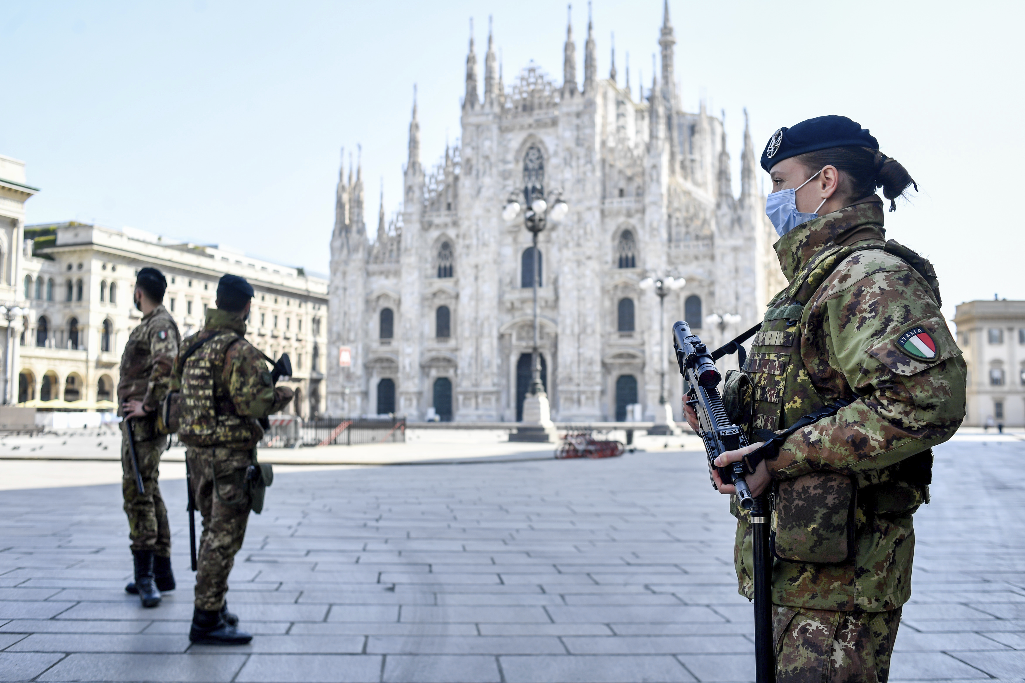 Europe sees more signs of hope as Italys virus curve falls