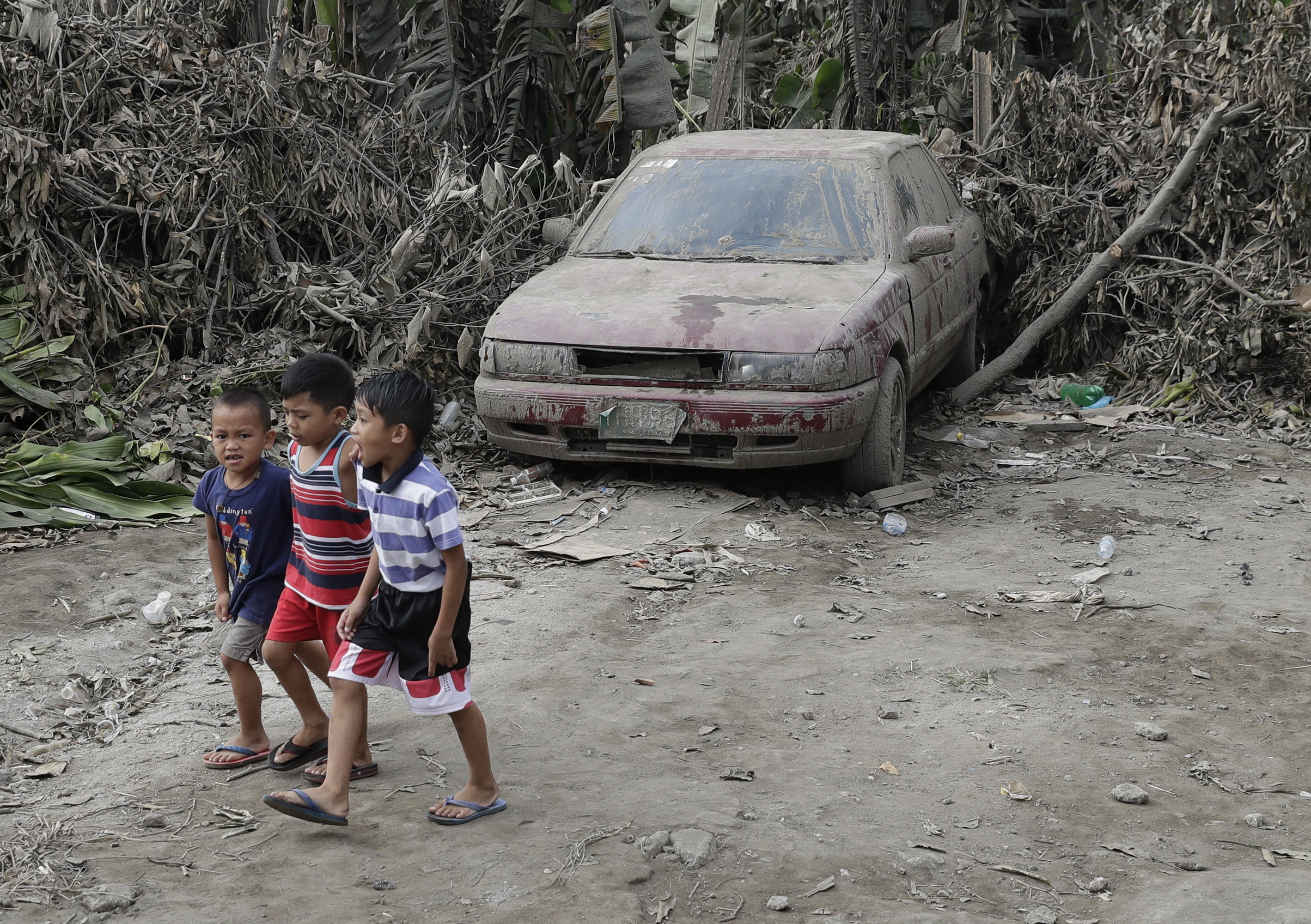 Philippines looks for safer homes for volcano residents