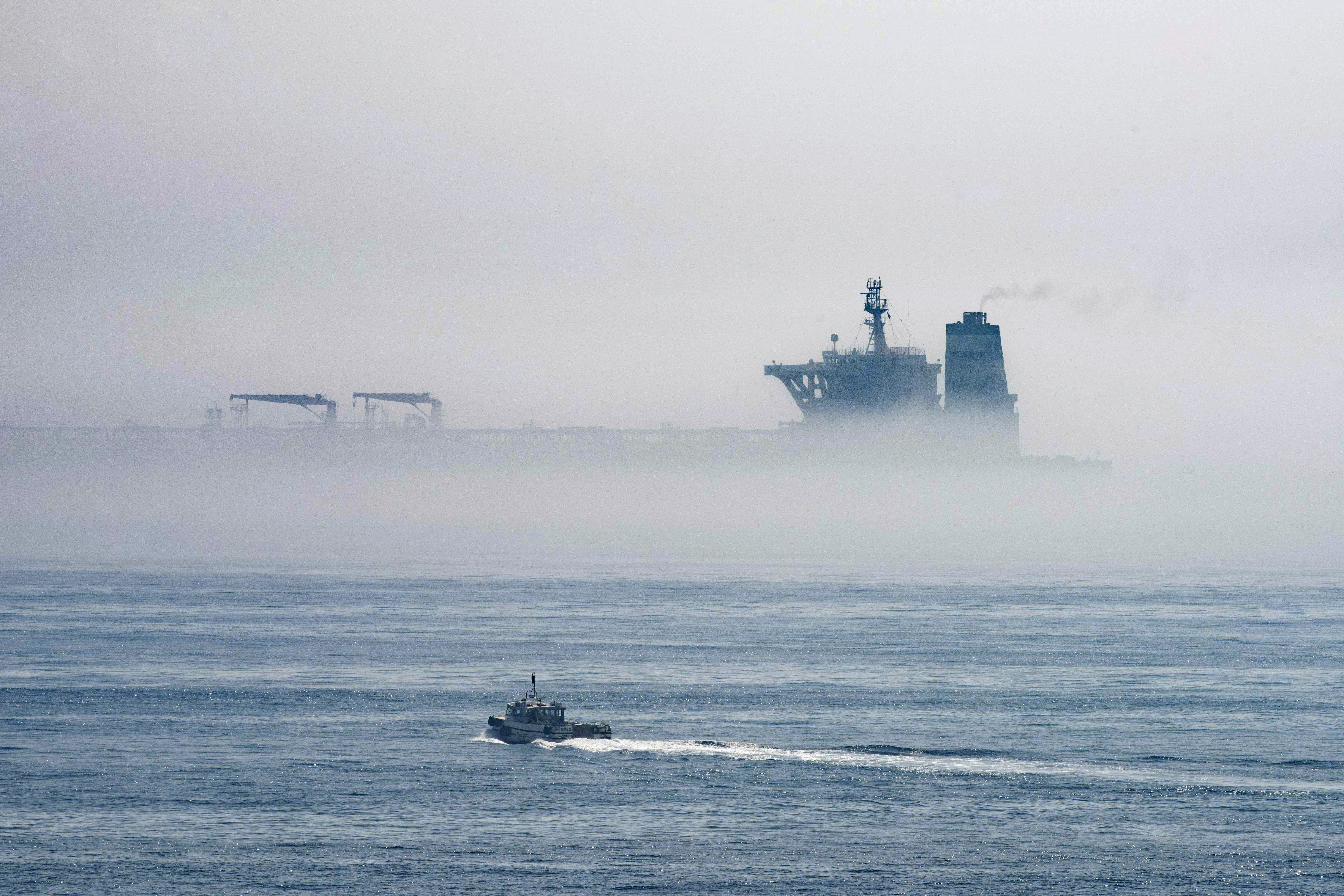 Iranian oil tanker pursued by US says it is going to Turkey