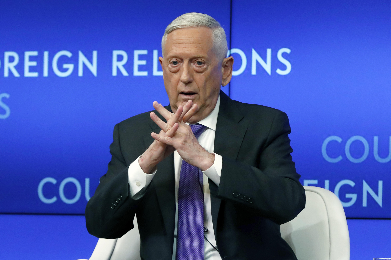 The Latest: Mattis says trust is question in Taliban talks