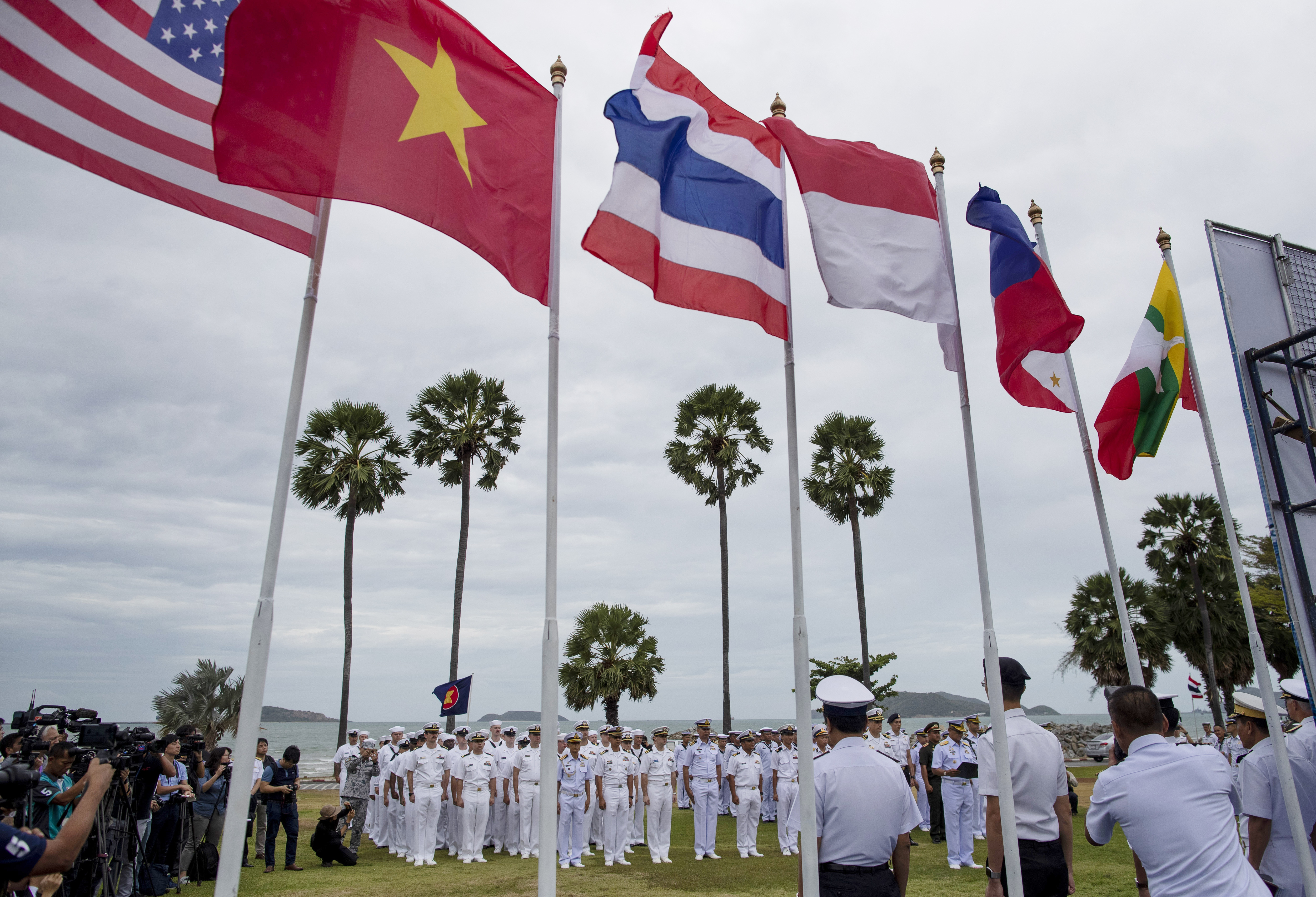 US promotes free and open Indo-Pacific at naval exercise