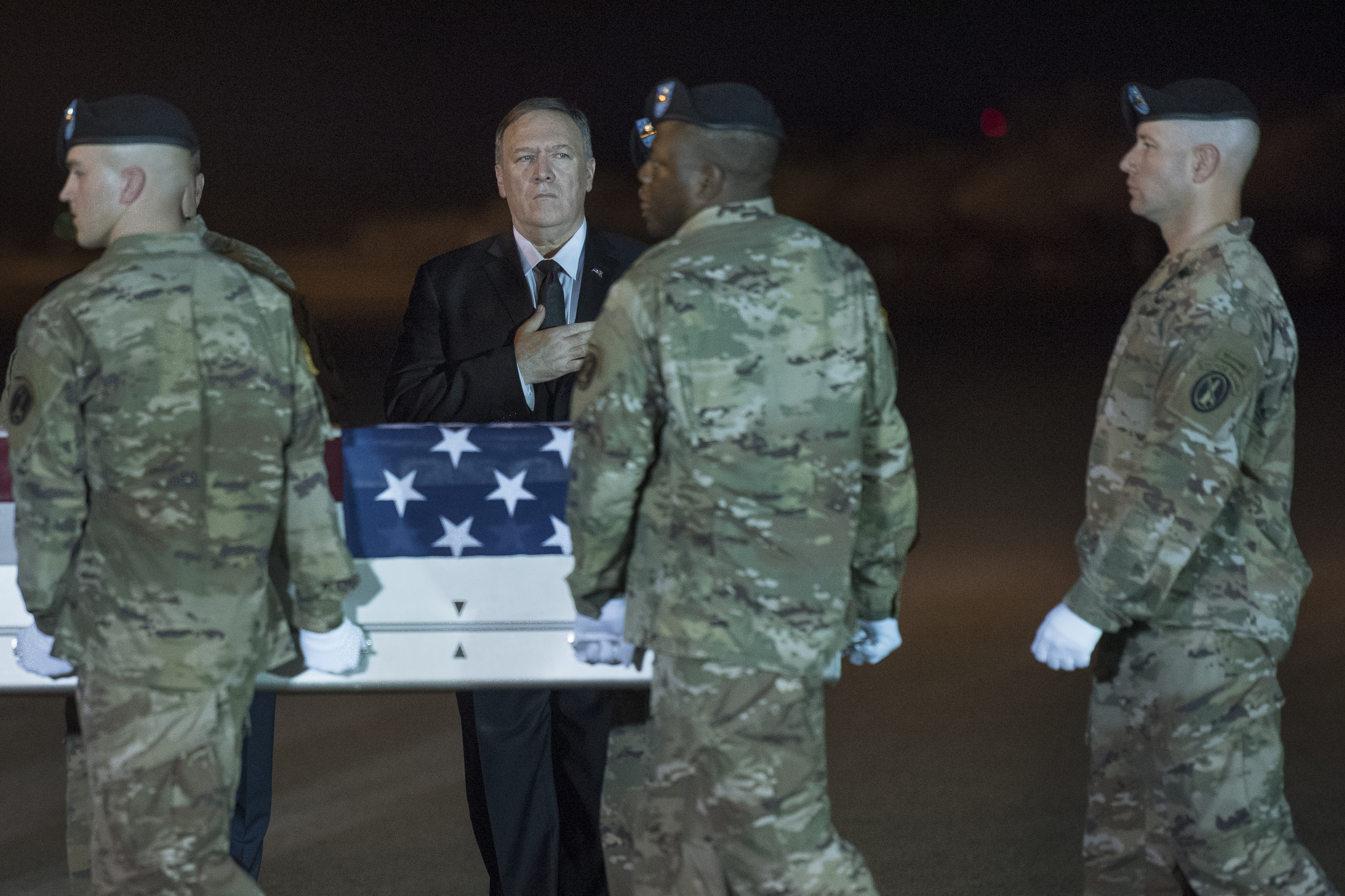 Pompeo: Taliban overreached in attack that killed American