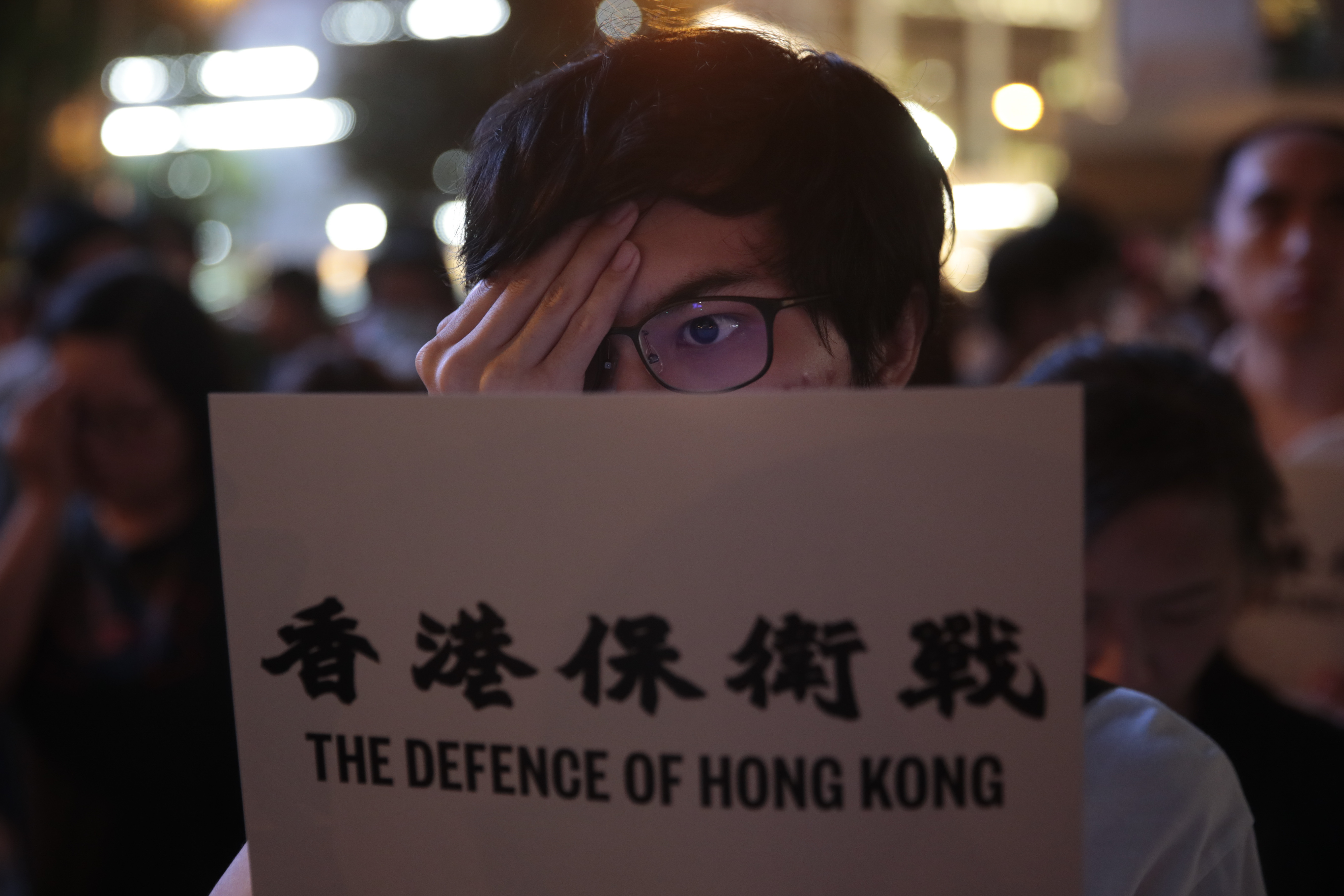 Hong Kong activists freed on bail, protest march banned