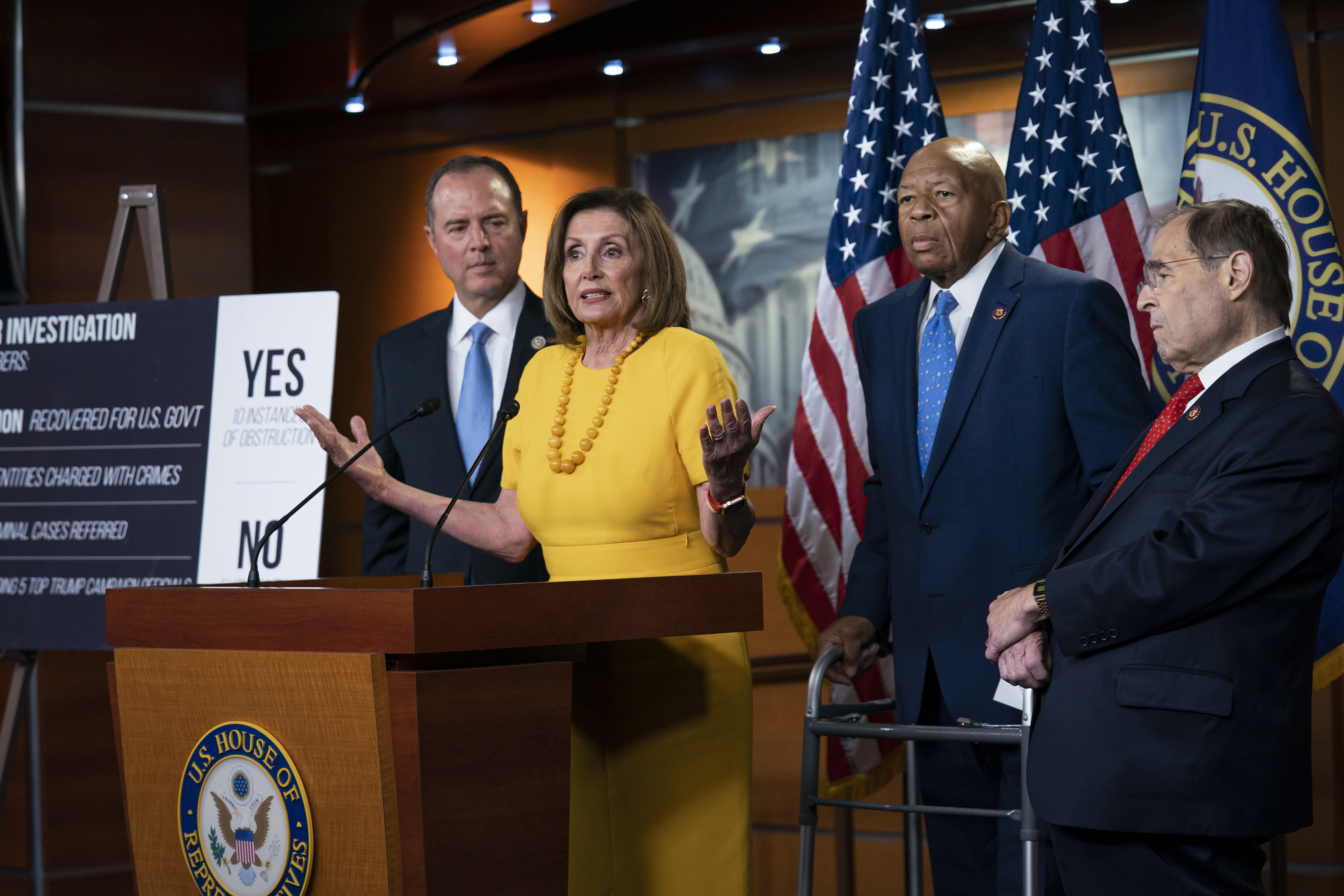 Donald who? Pelosi, Democrats vow to own August on issues