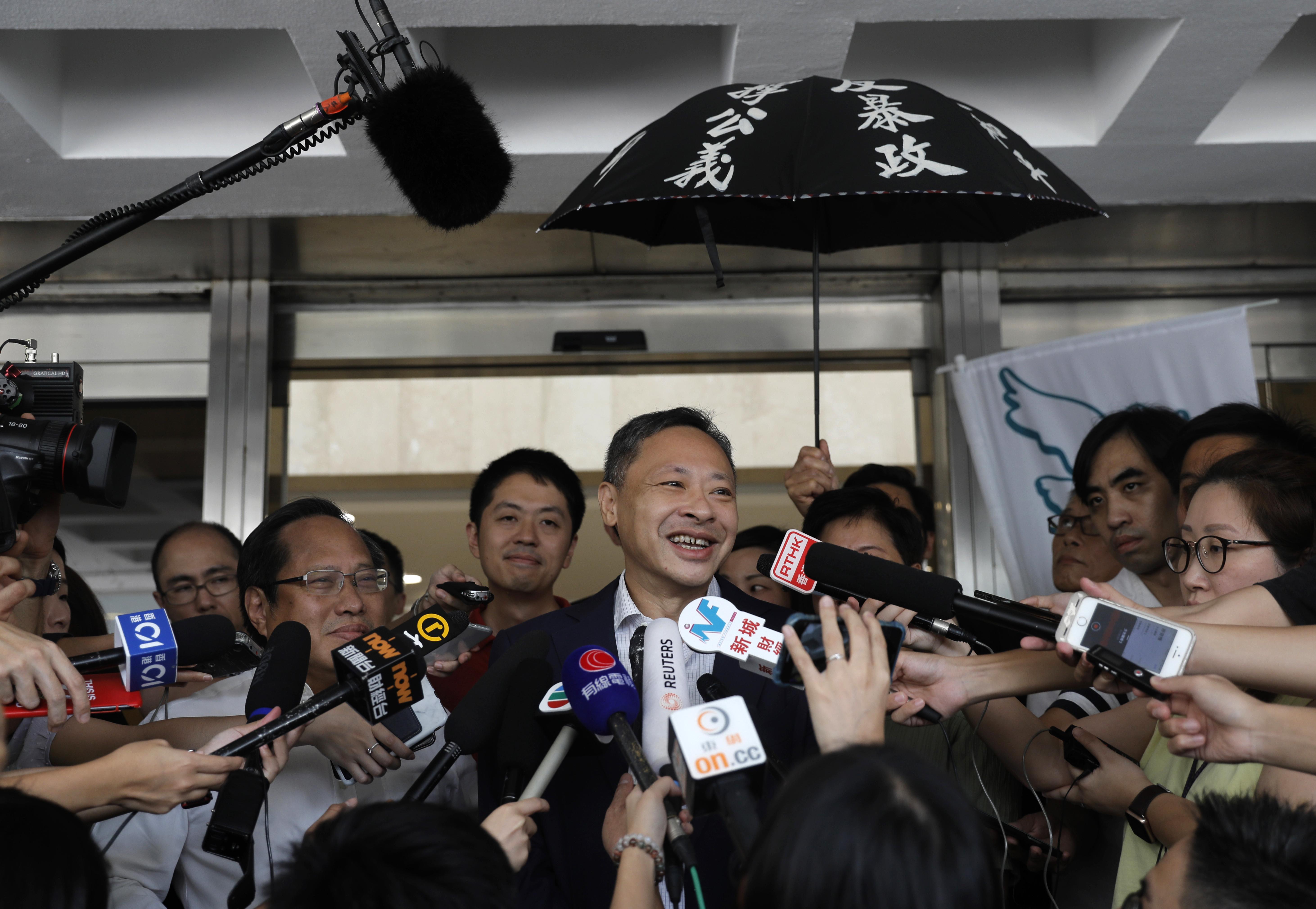 Hong Kong police: not aware of any military plans by China