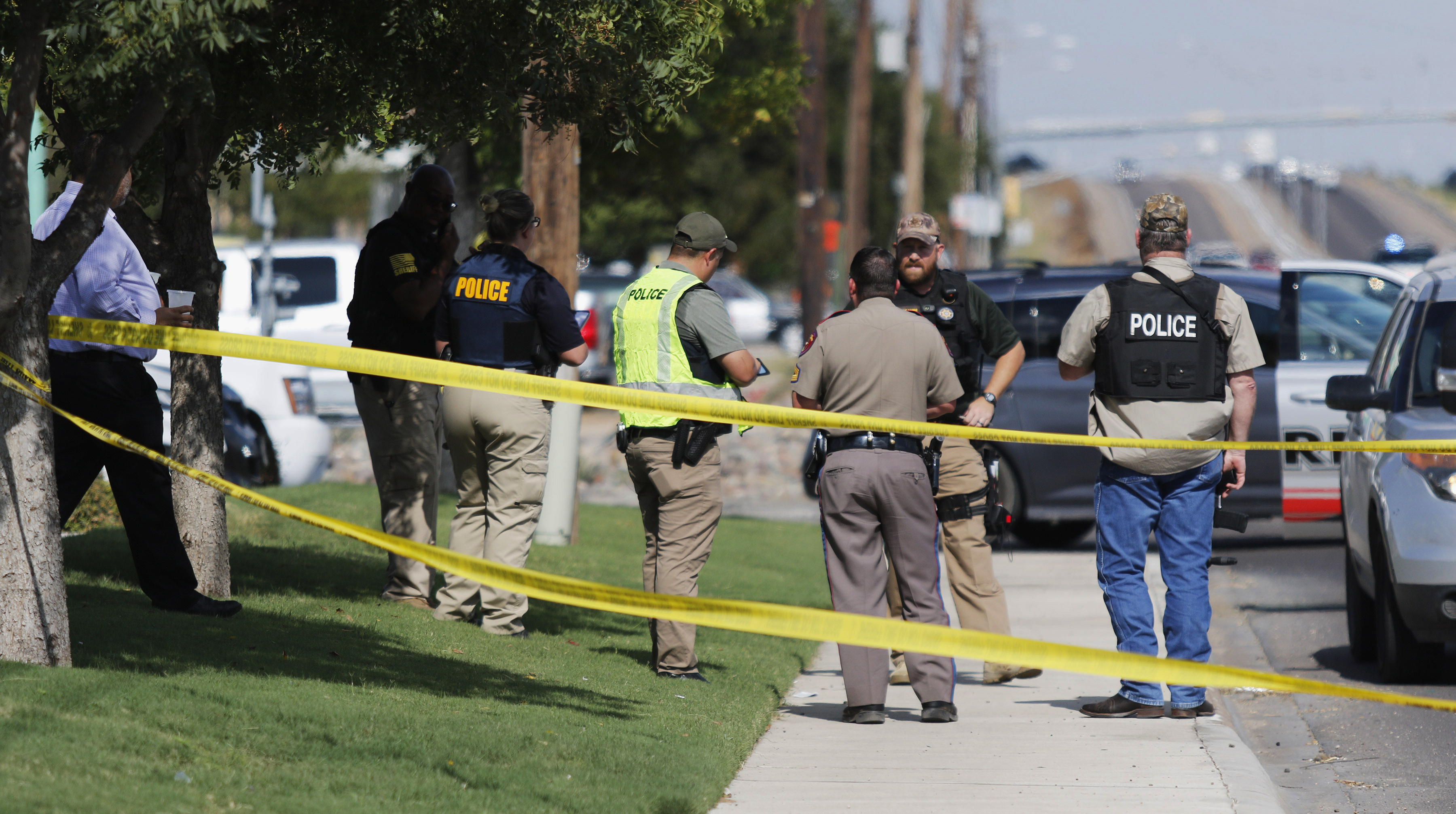 The Latest: West Texas residents grieve at prayer vigil