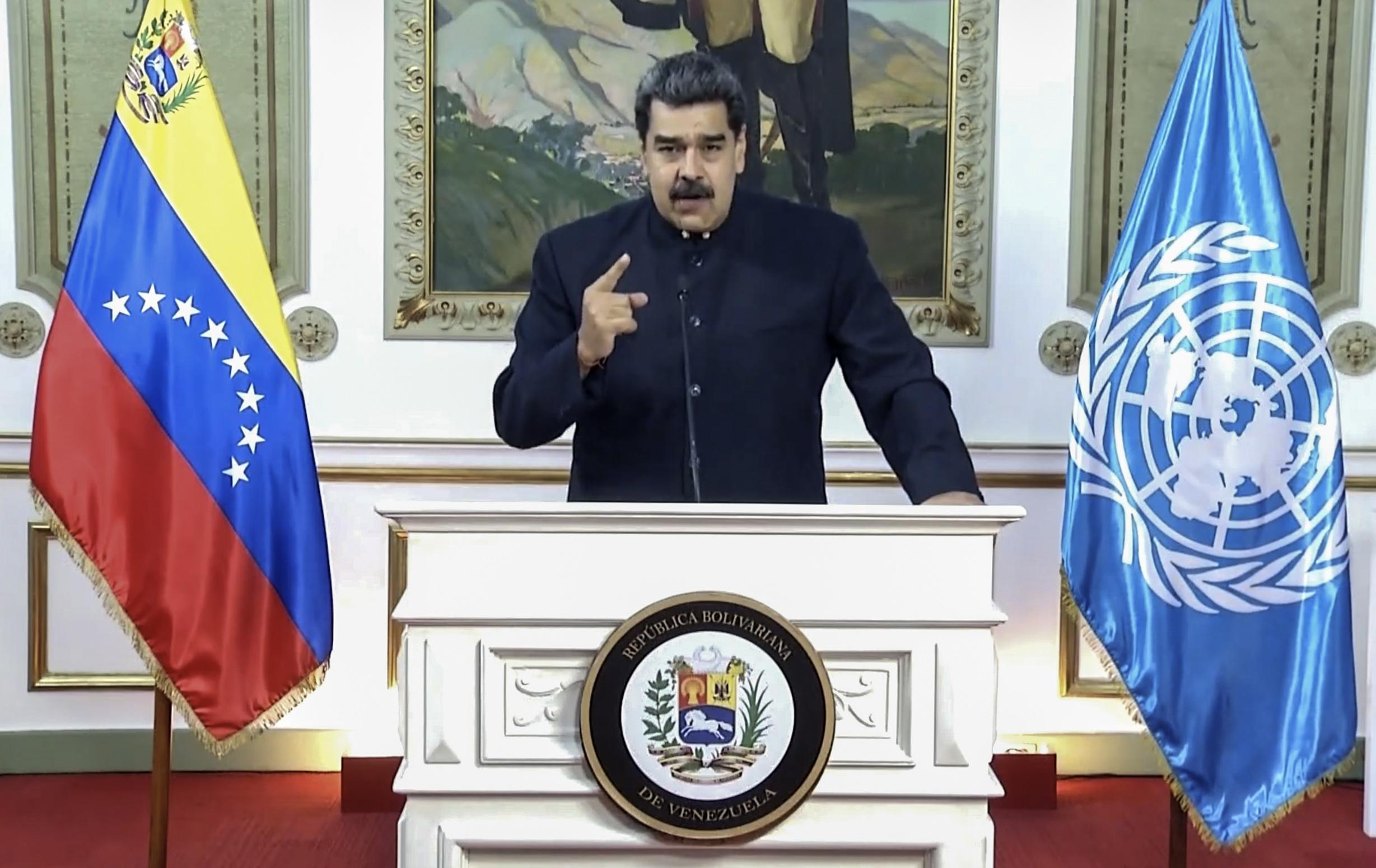 Venezuelas Maduro blasts US in speech to world leaders