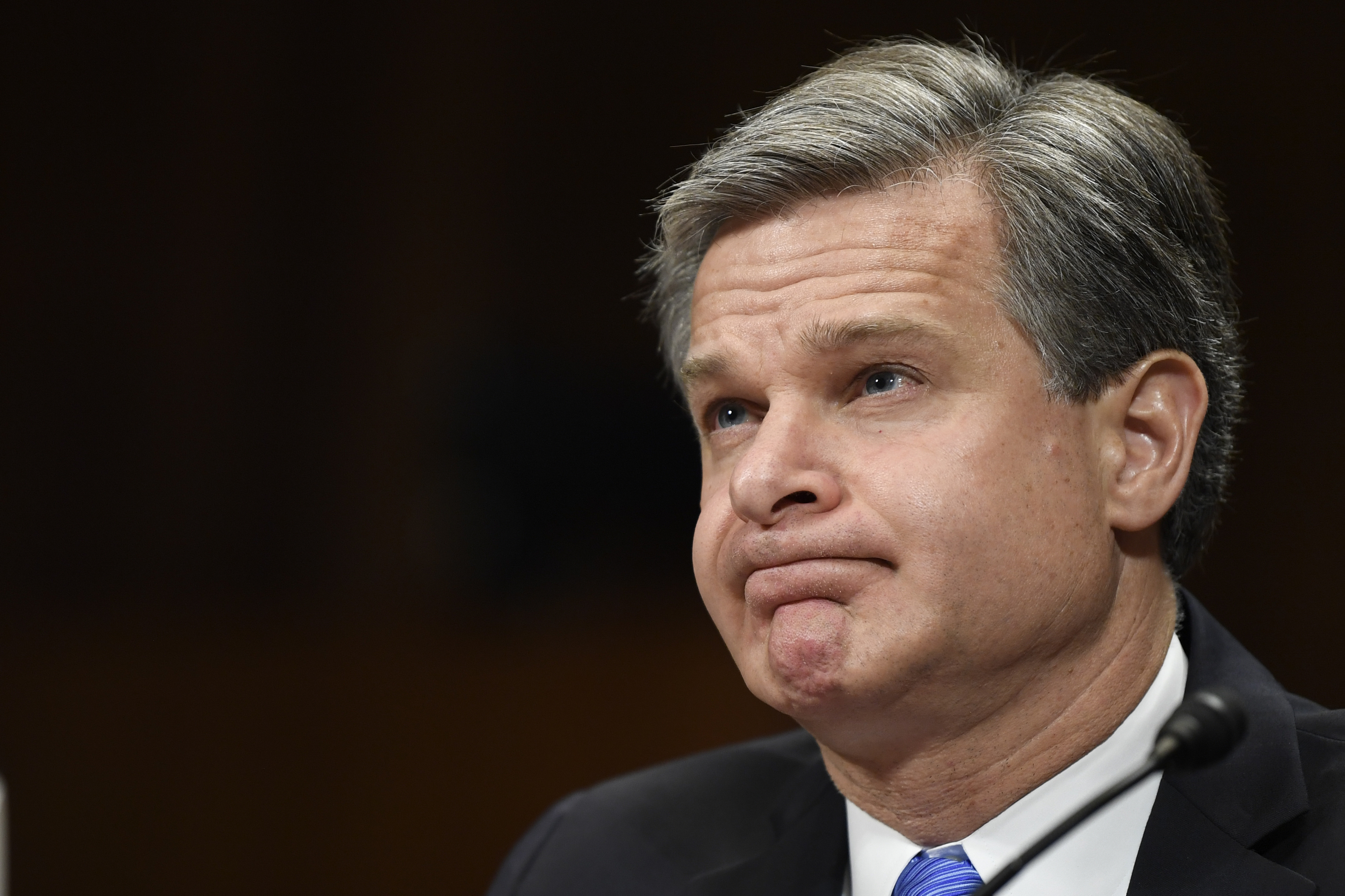 The Latest: FBI chief Wray says China poses a serious threat