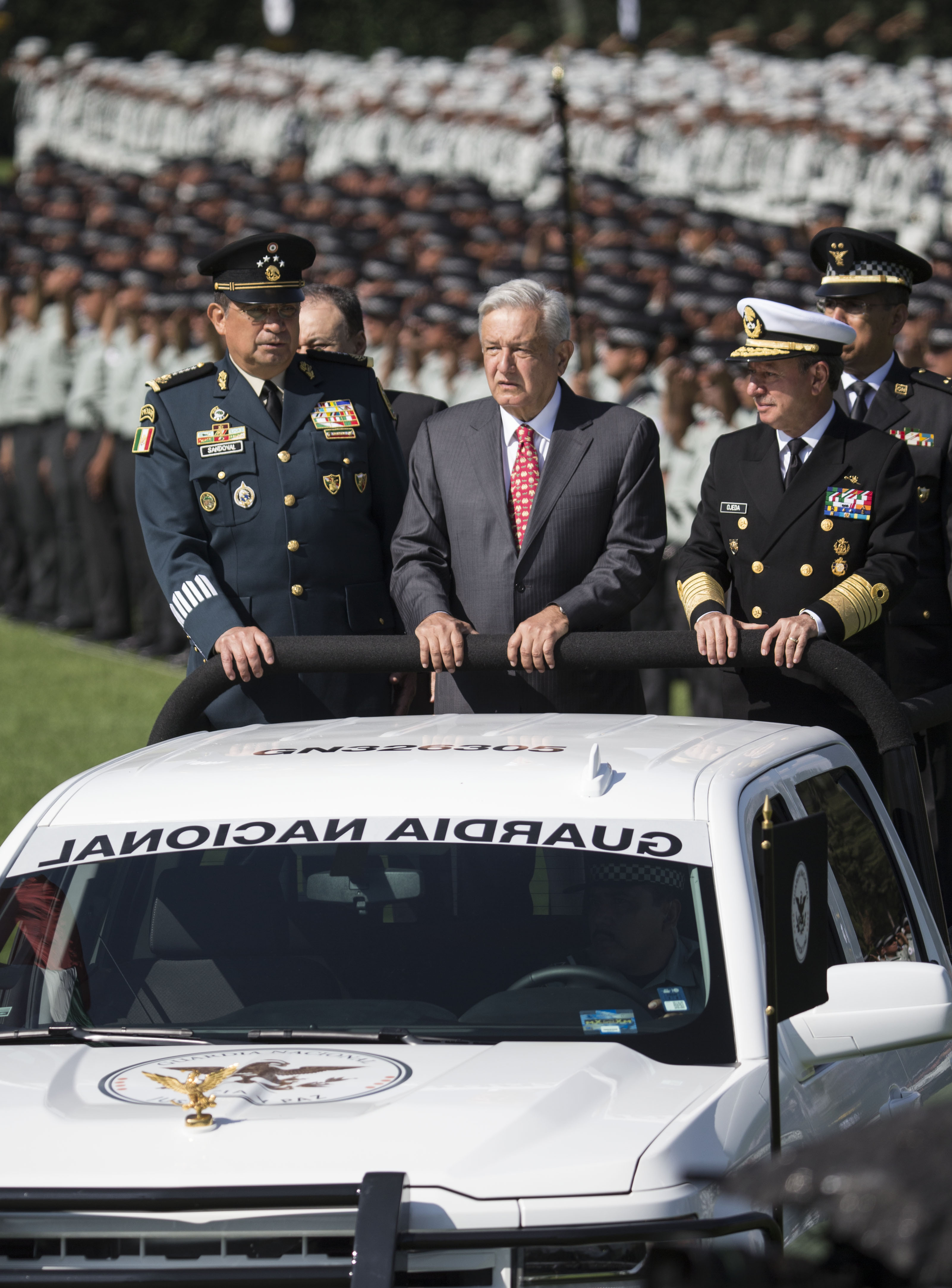 Mexico deploys new National Guard to stem violent crime