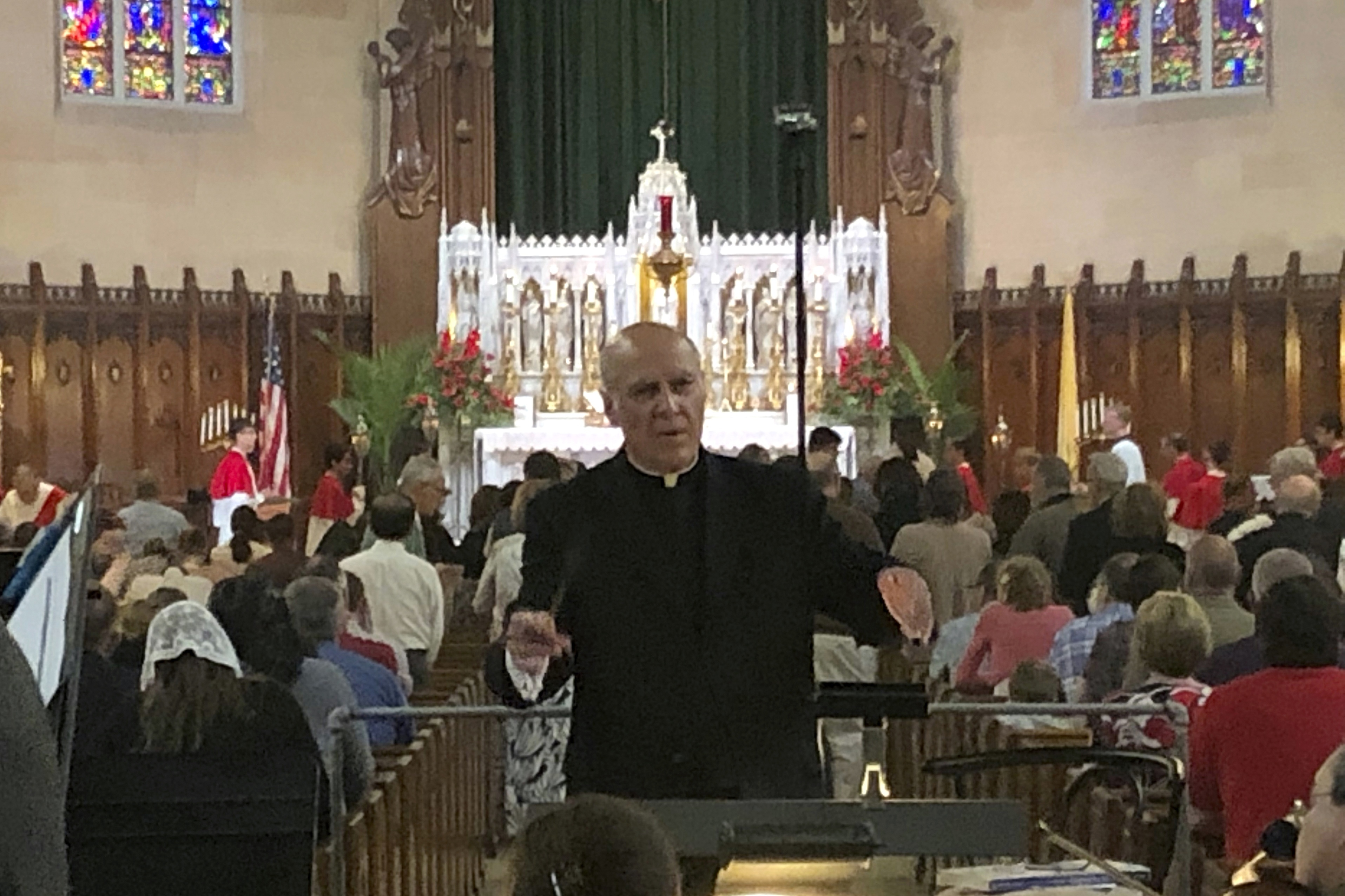 Prominent Detroit priest removed from pulpit