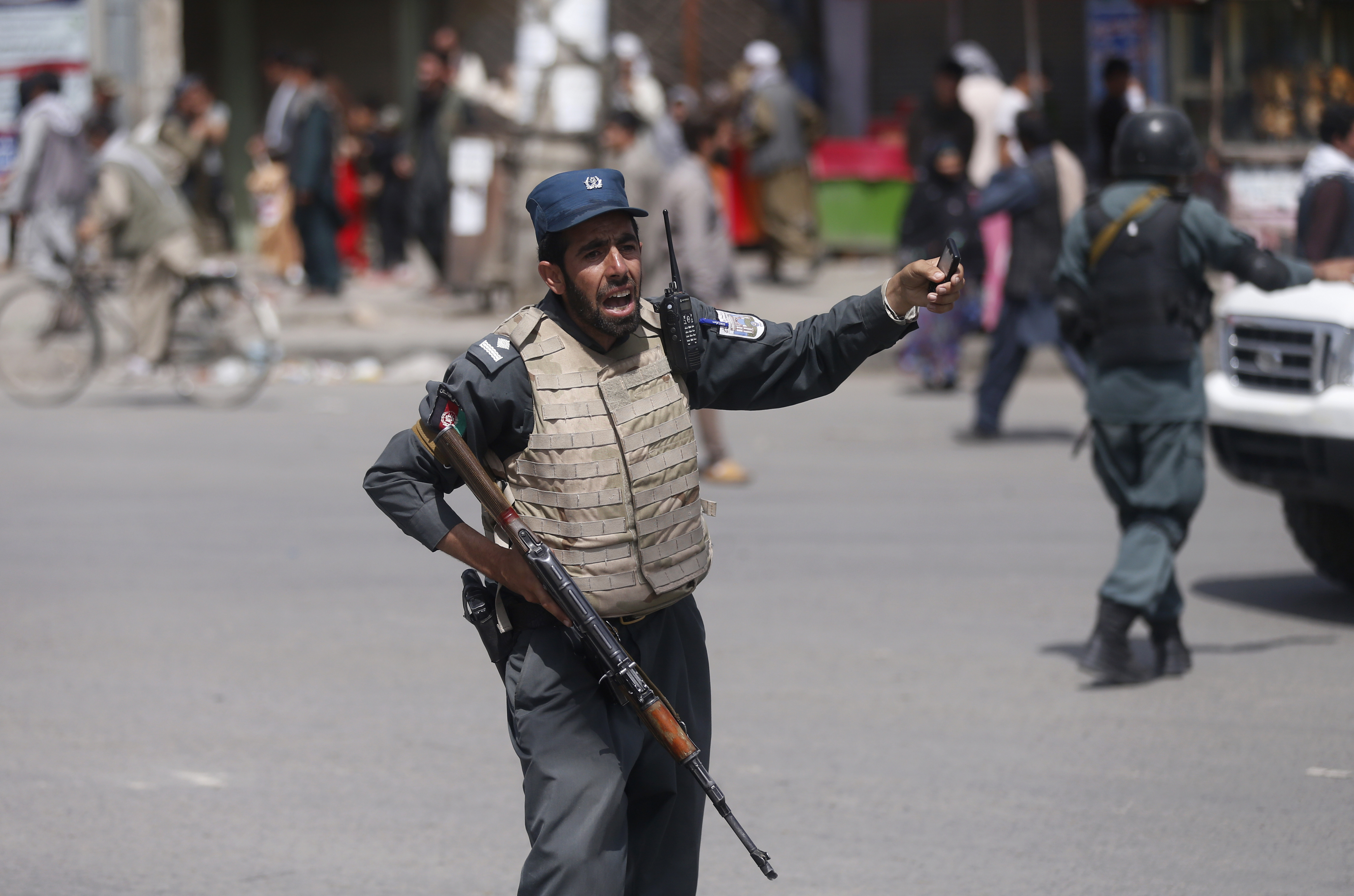 Taliban suicide blast in Kabul kills 14 people, 145 wounded